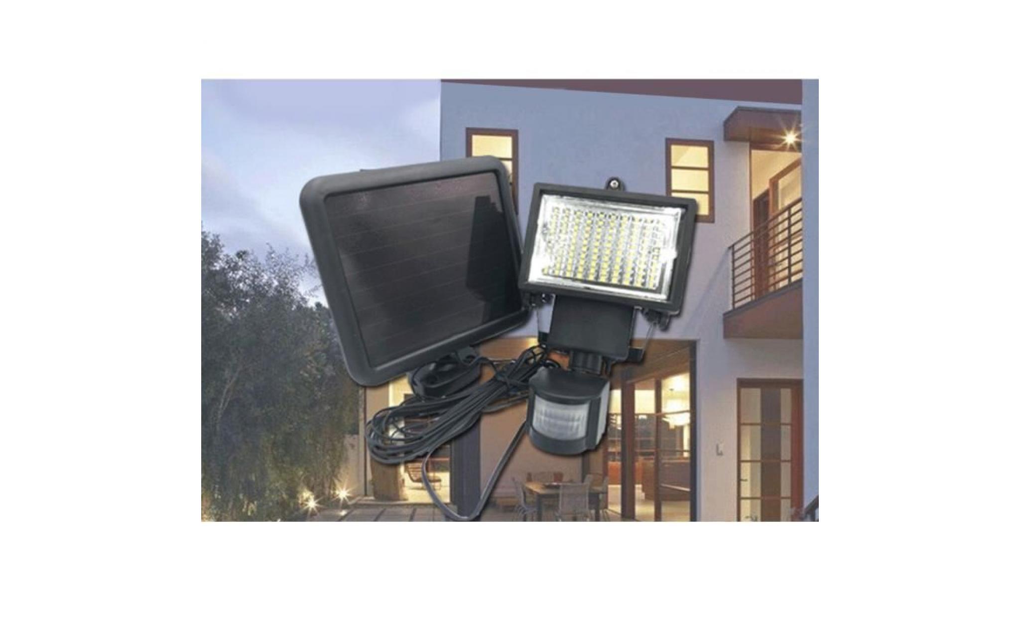 Lampe Extérieur Mouvement 120led Avec De Solaire Detecteur 7gvYmIfyb6