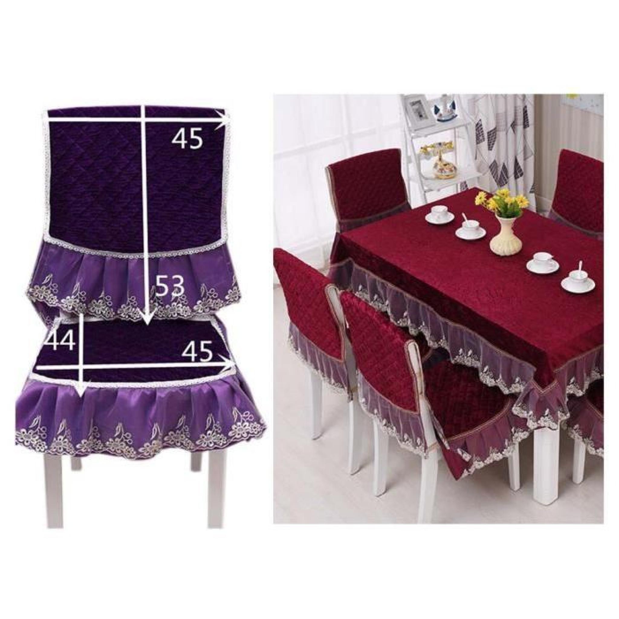 2 pi ces classique housse fauteuil coussin de chaise. Black Bedroom Furniture Sets. Home Design Ideas