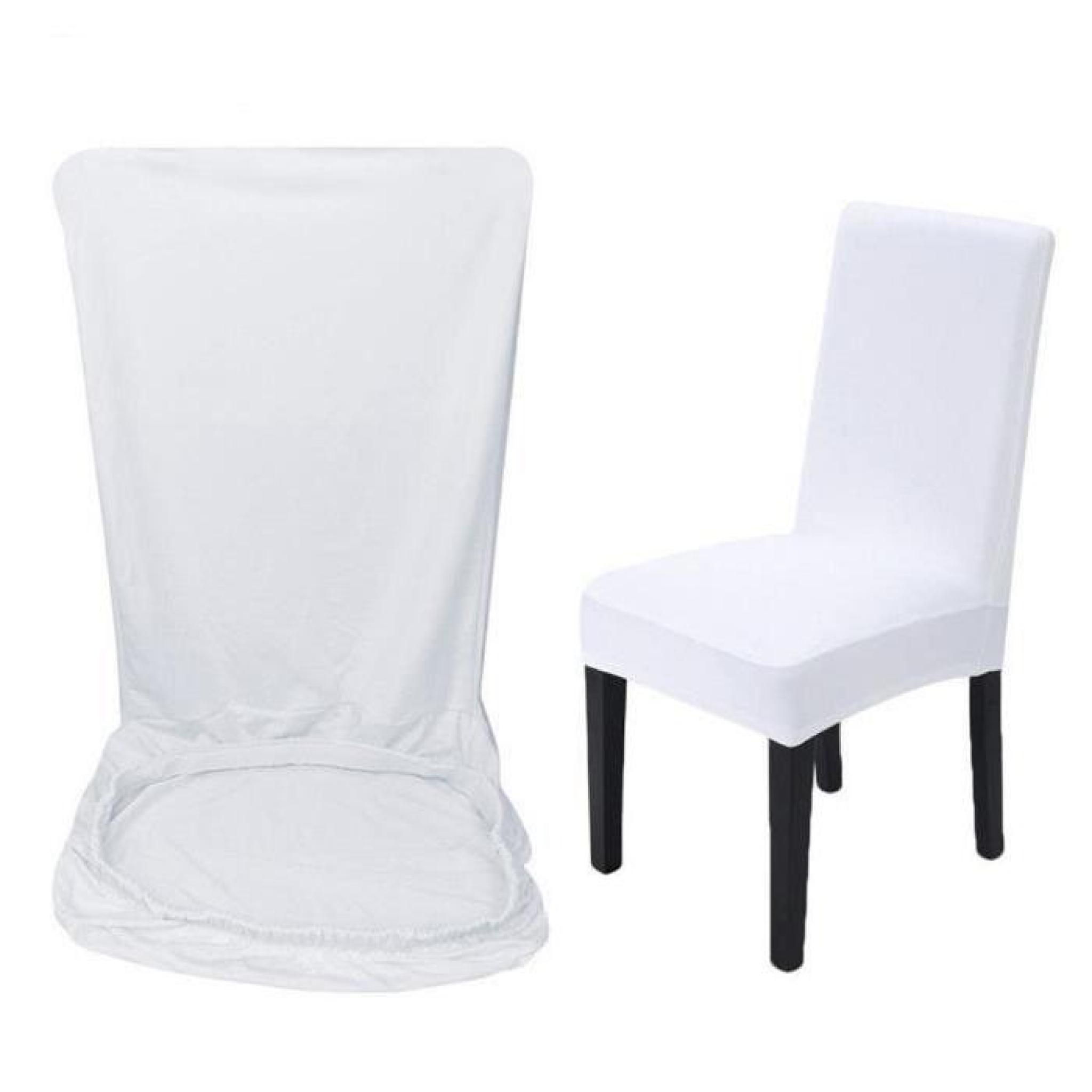 5 x Housse de chaise housse Fauteuil élastique Extensible pour Décor Fête  Mariage Décoration