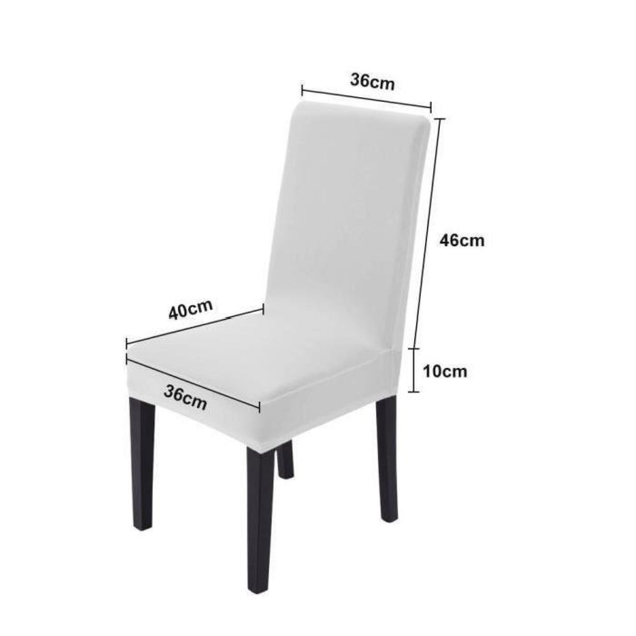 2 x housse de chaise housse fauteuil lastique extensible pour d cor f te mariage d coration. Black Bedroom Furniture Sets. Home Design Ideas