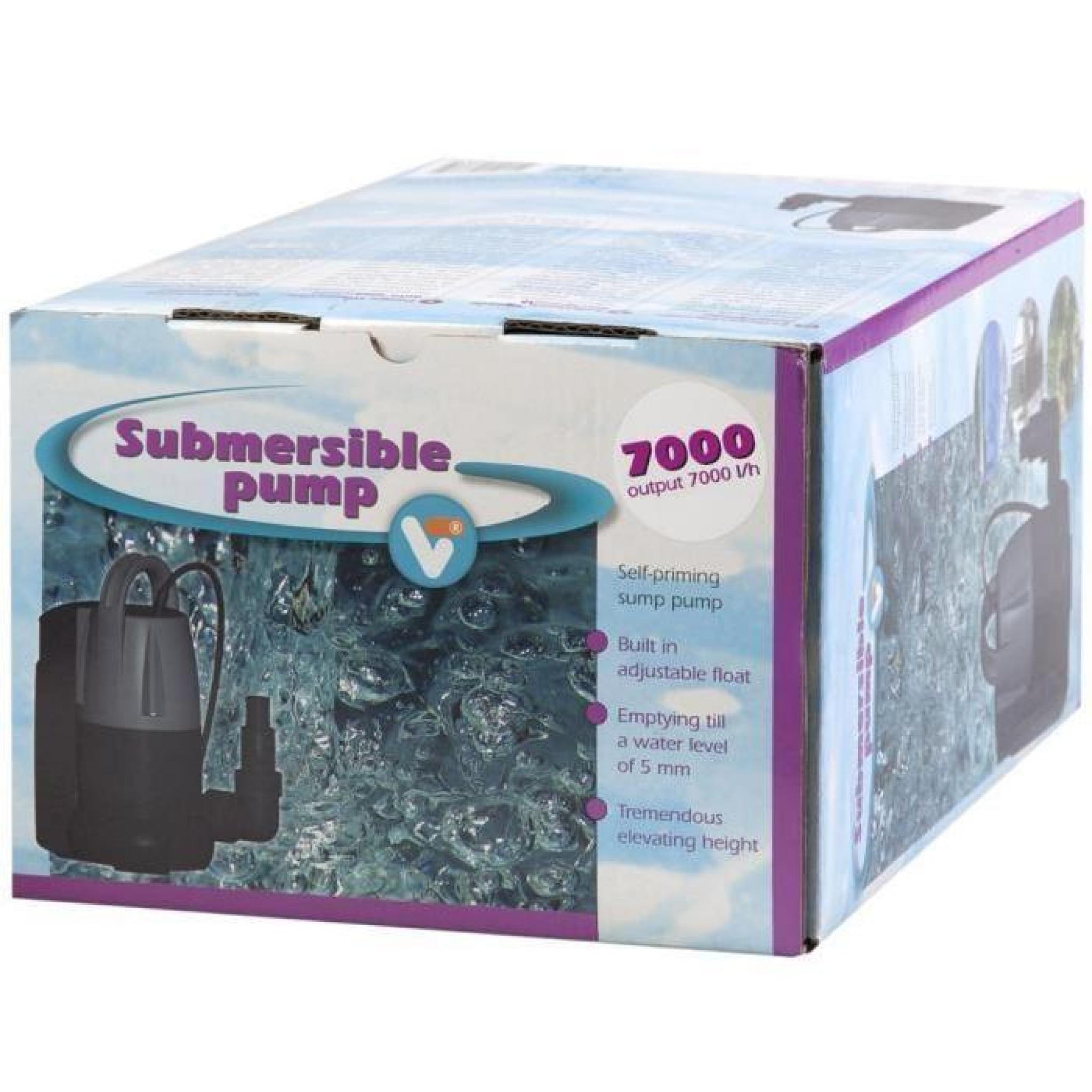 Accessoires pour fontaines et bassins pompe submersible vt Accessoires pour bassin de jardin