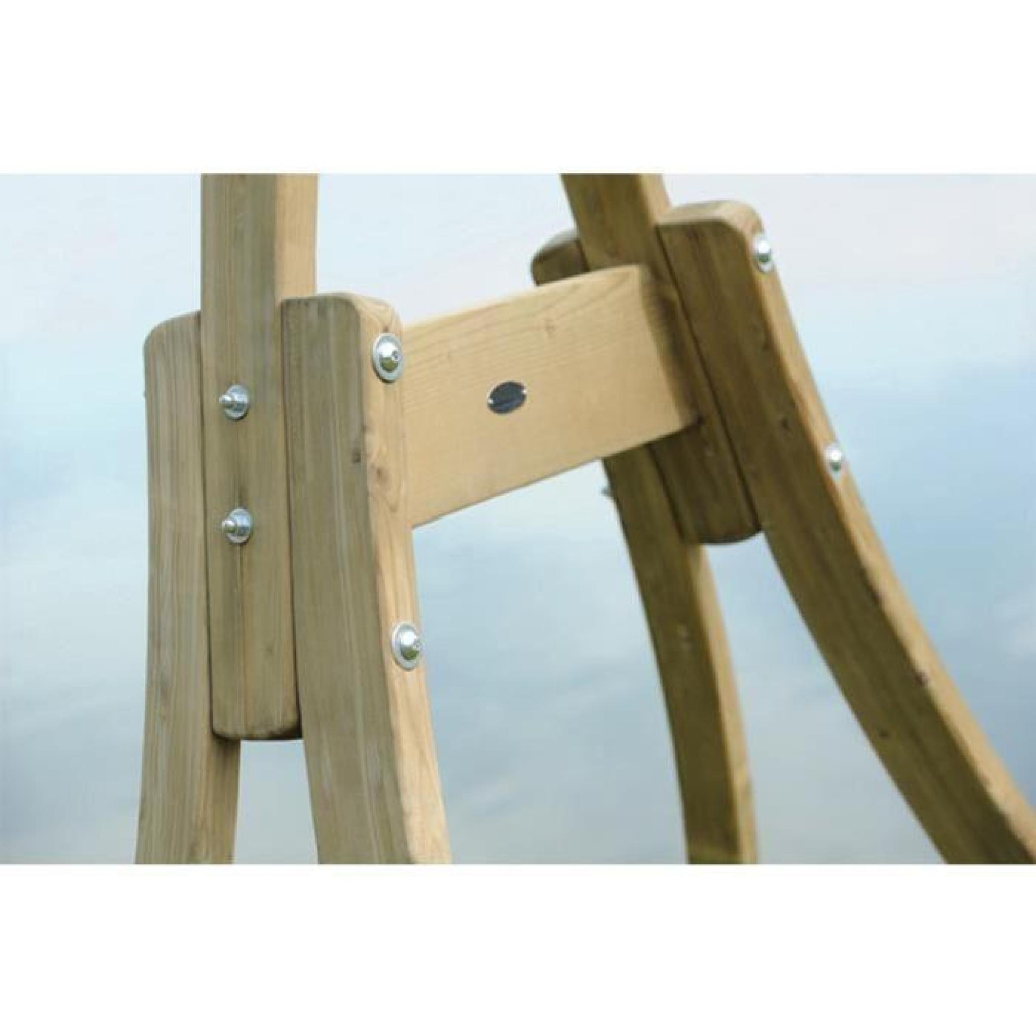 Support hamac bois pas cher maison design - Hamac pas cher sur pied ...