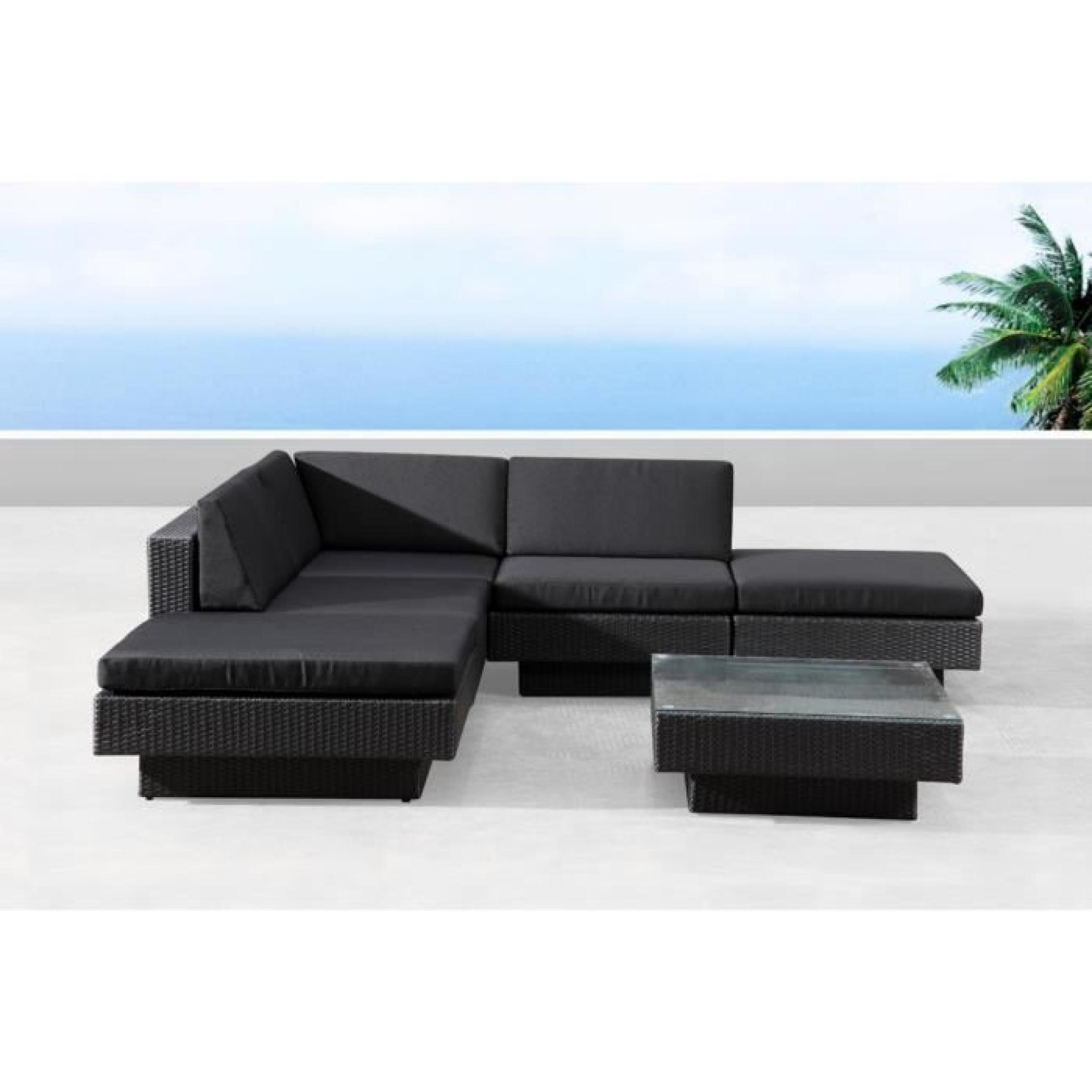 l gant salon de jardin d angle id es de salon de jardin. Black Bedroom Furniture Sets. Home Design Ideas
