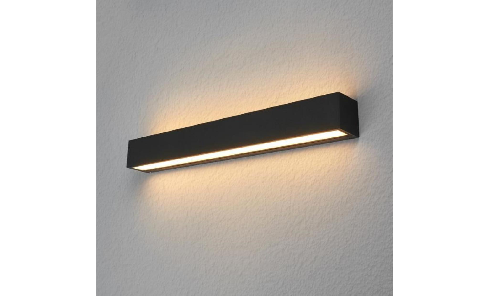 Applique d 39 ext rieur led carr e tuana achat vente for Applique exterieur