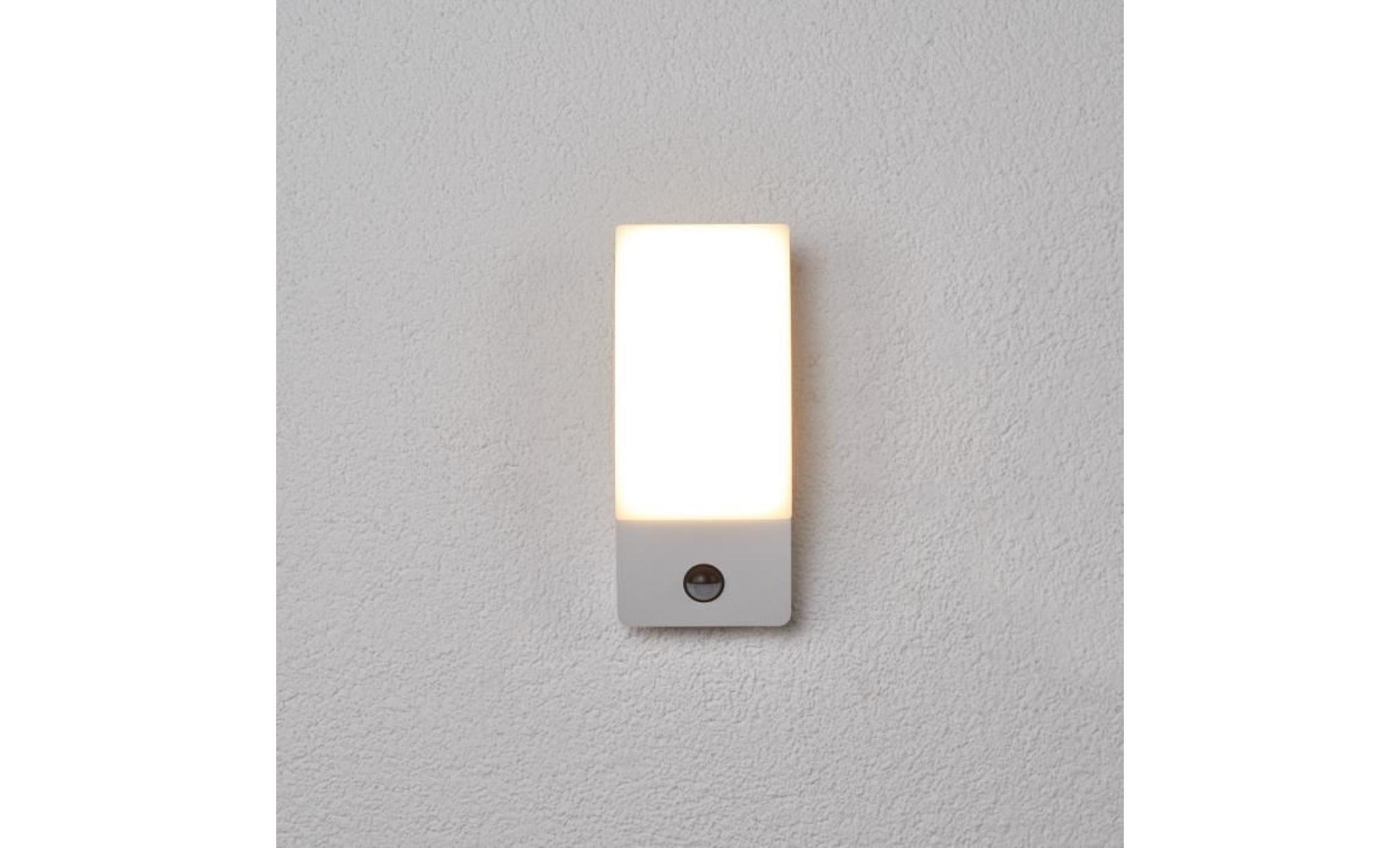 applique d'extérieur led détecteur de mvment siara - achat/vente
