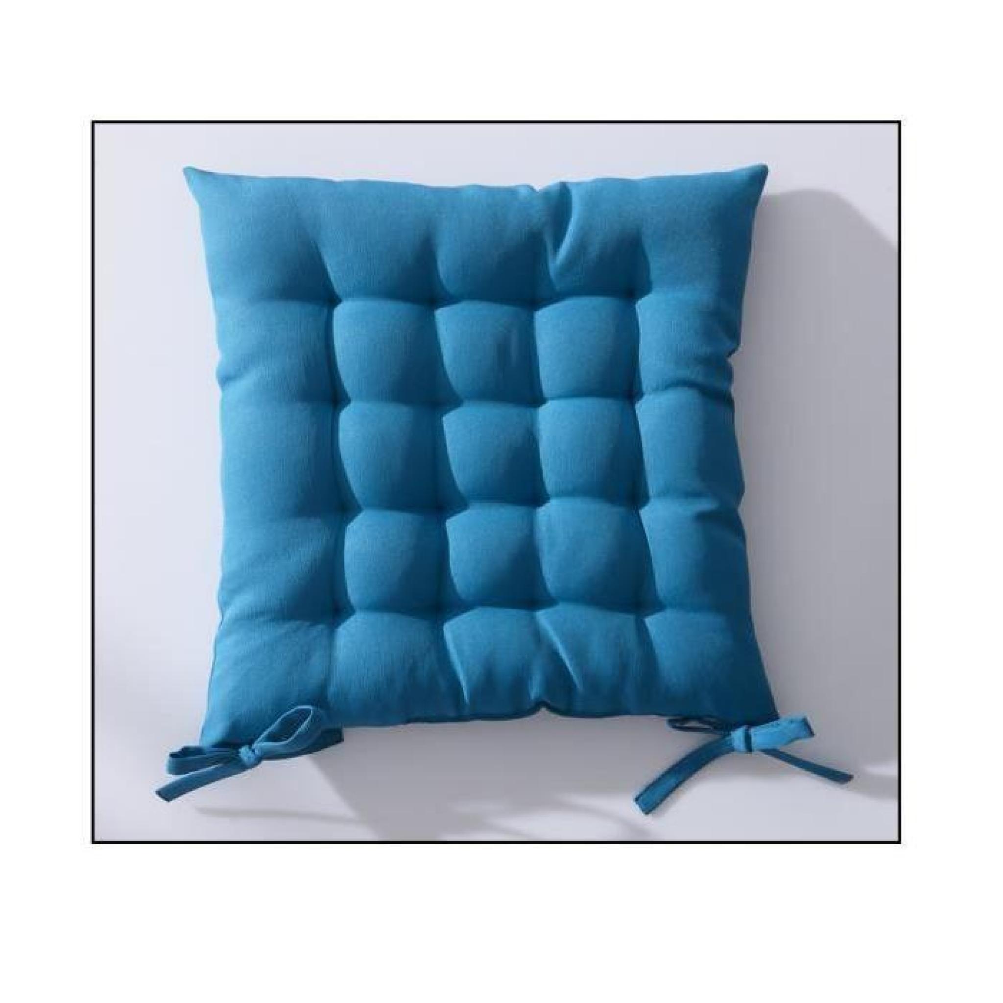 galette de chaise 40x40 cm matelass mer du sud achat vente coussin chaise de jardin pas cher. Black Bedroom Furniture Sets. Home Design Ideas