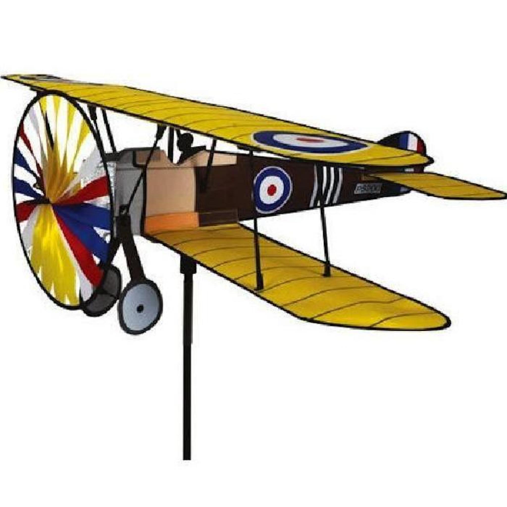 avion sopwith camel moulin vent d co de jardin aviation. Black Bedroom Furniture Sets. Home Design Ideas