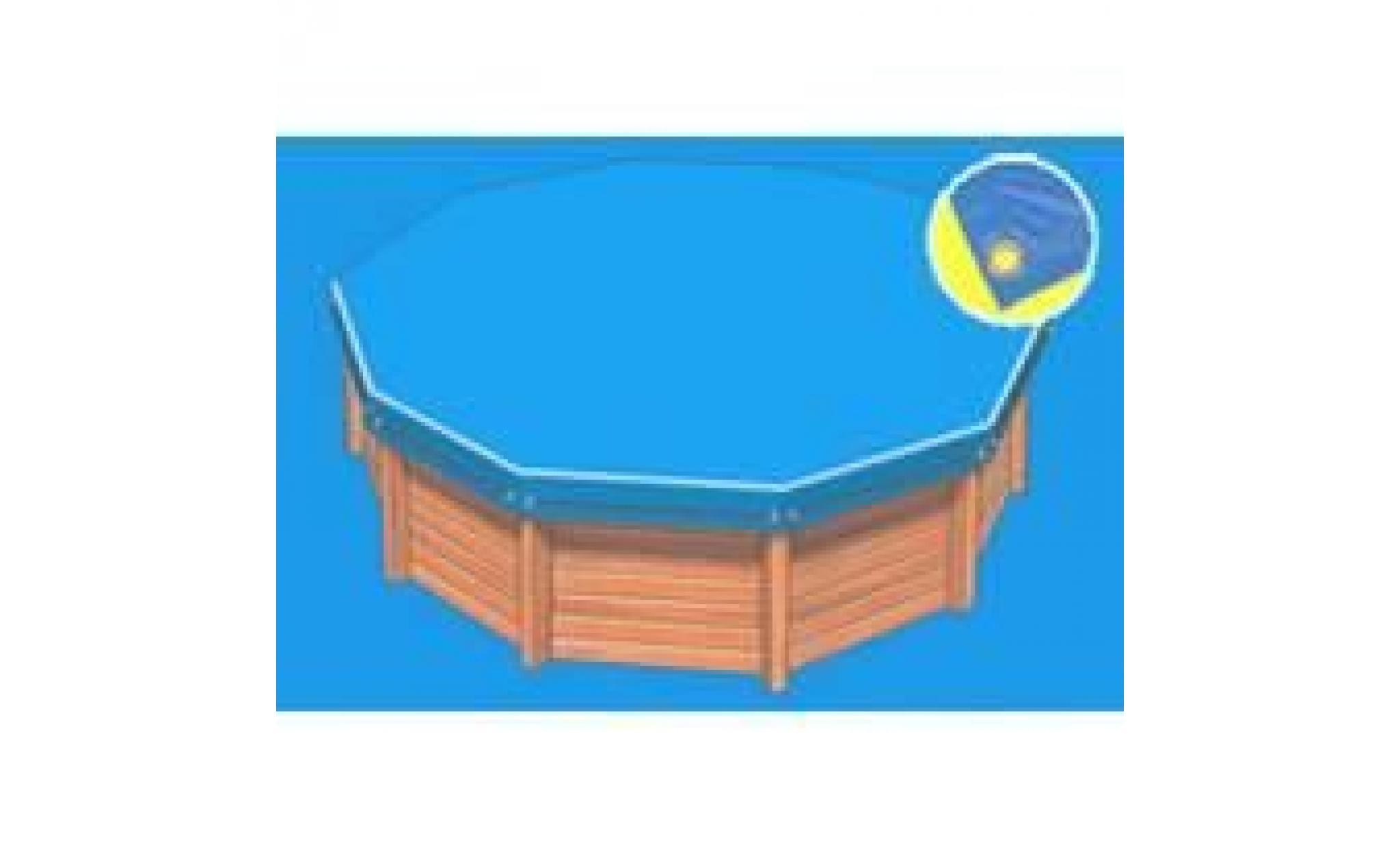 B che hiver luxe bleue pour piscine cristaline achat for Bache pour bassin pas cher