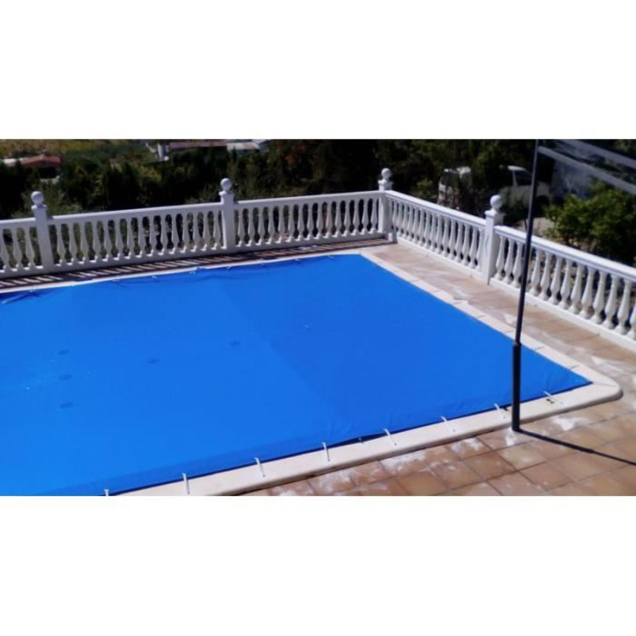 b ches d 39 hiver pour les piscines 4x10 m tres 4 3x10 3. Black Bedroom Furniture Sets. Home Design Ideas