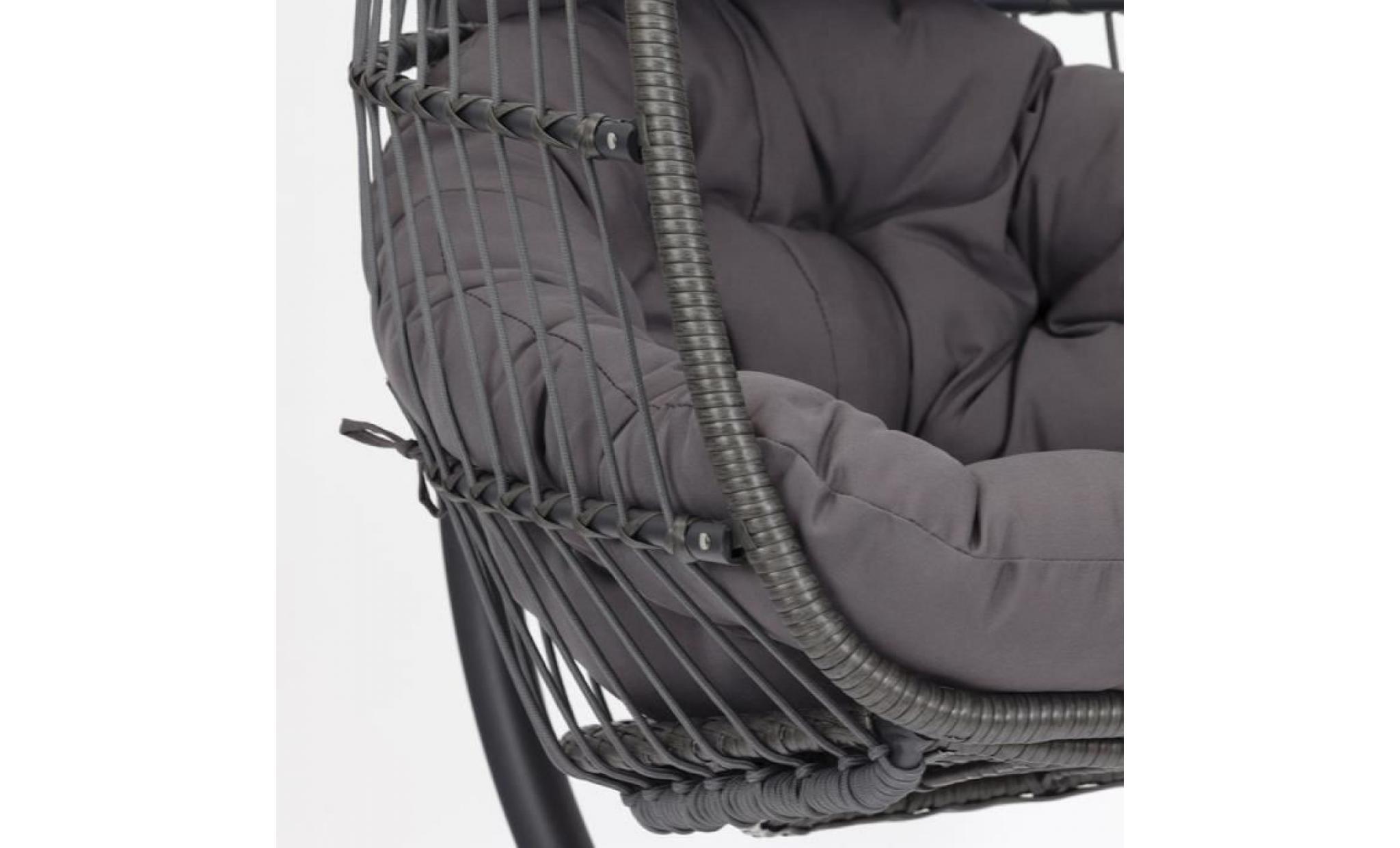 fauteuil suspendu resine tressee perfect fauteuil resine tressee ikea fauteuils bayil. Black Bedroom Furniture Sets. Home Design Ideas