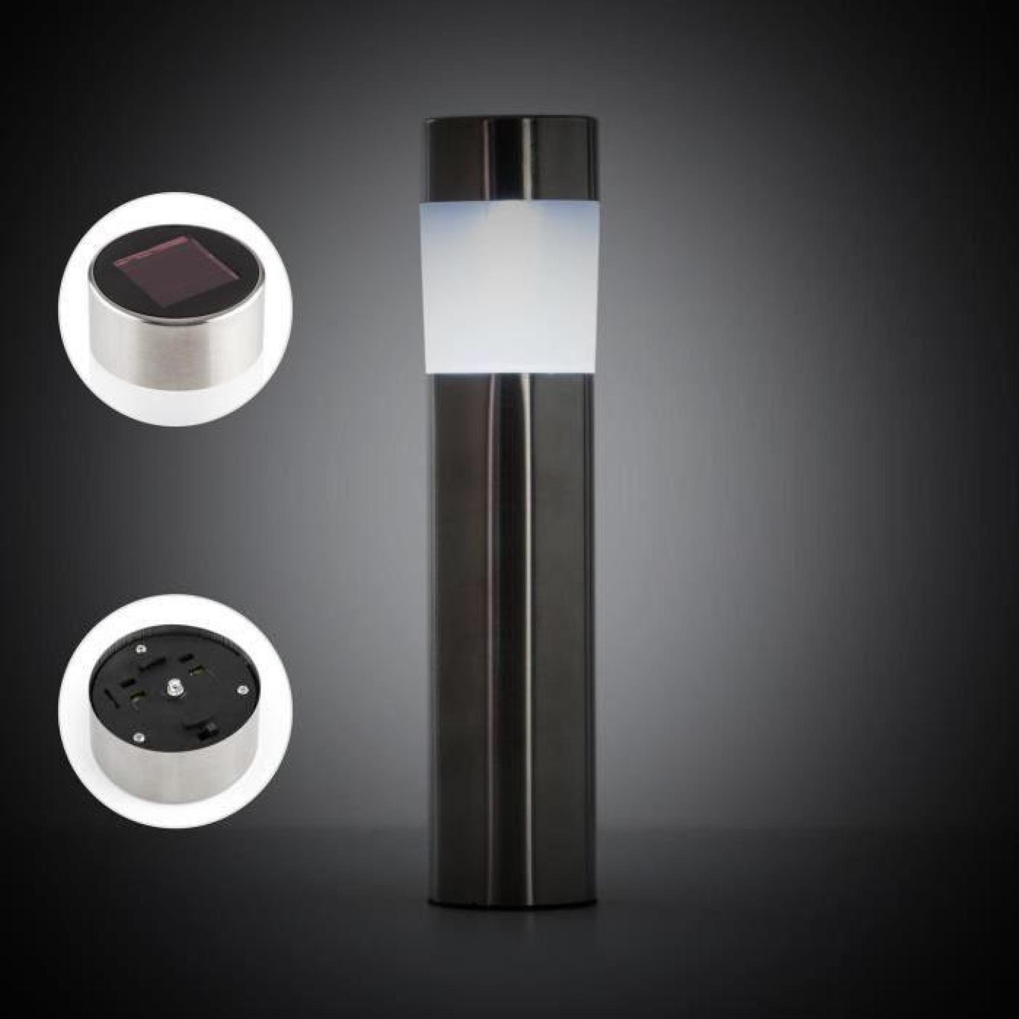 Blumdeldt Vitus Set de lampes solaires pour chemins en inox avec ...