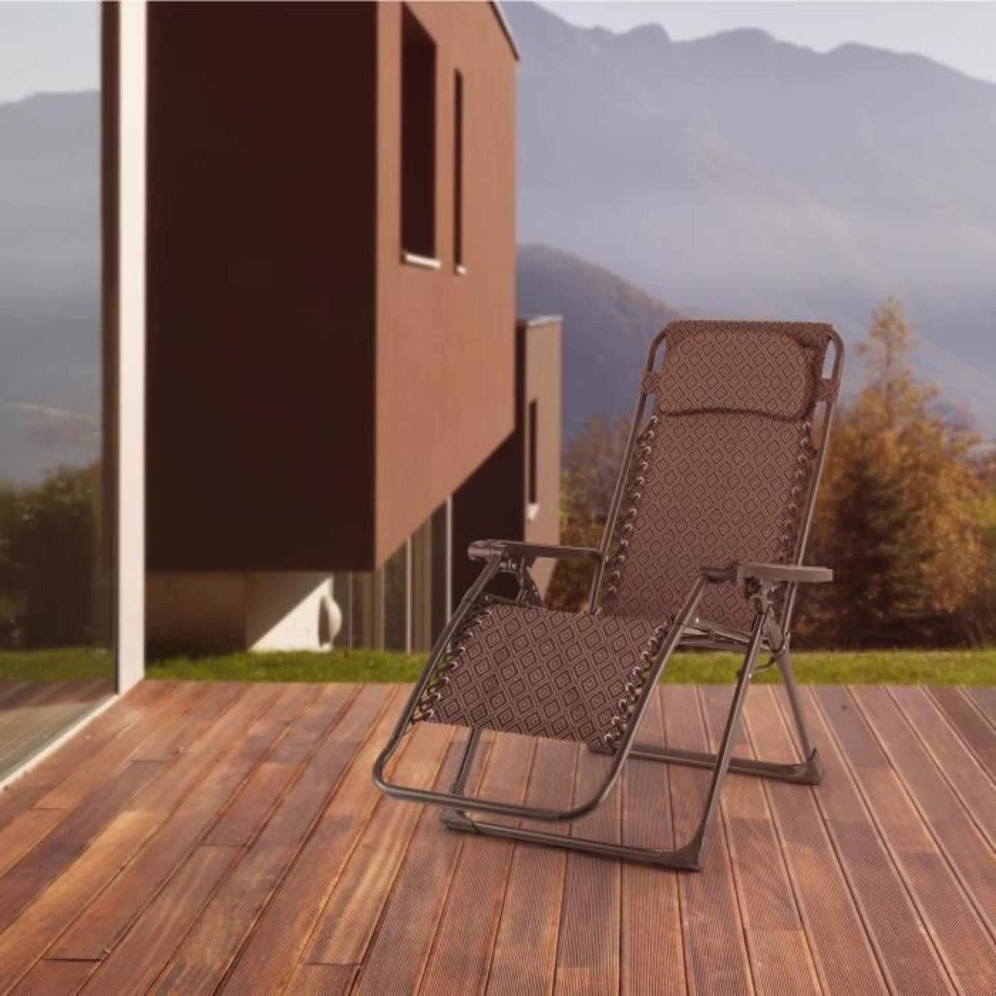 blumfeldt california red chaise longue de jardin pliable. Black Bedroom Furniture Sets. Home Design Ideas