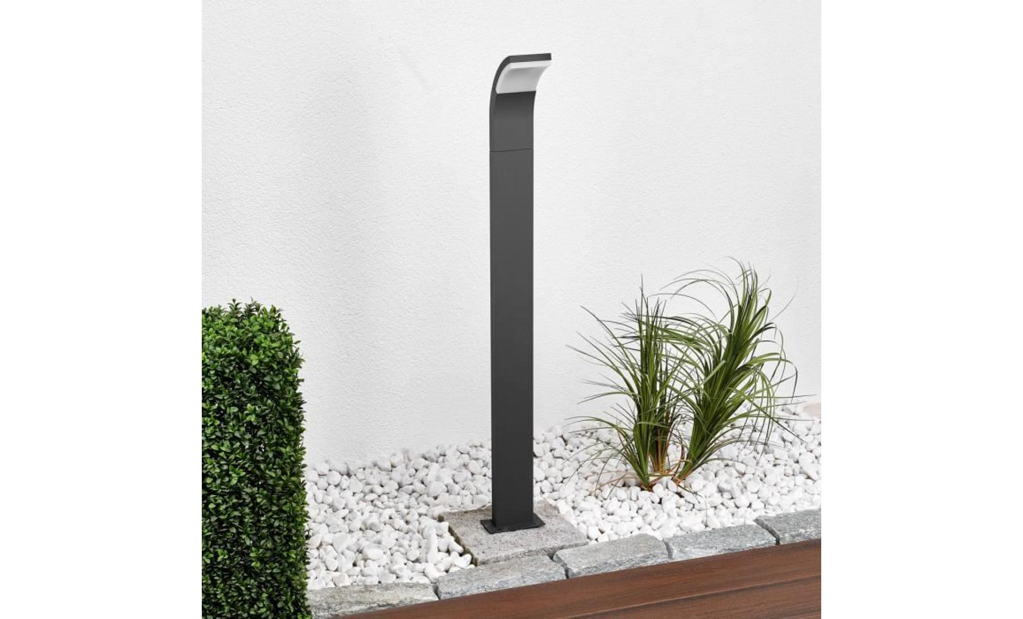 Borne lumineuse jardin borne d 39 ext rieur bird noir for Borne lumineuse de jardin