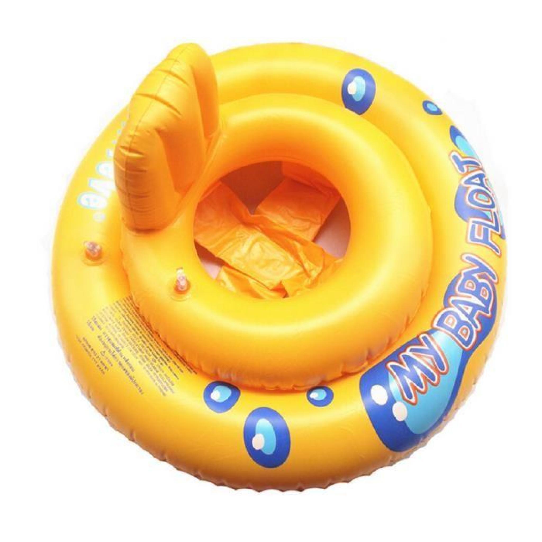 Bou e gonflable anneau de natation gonflable avec si ge for Piscine gonflable avec siege