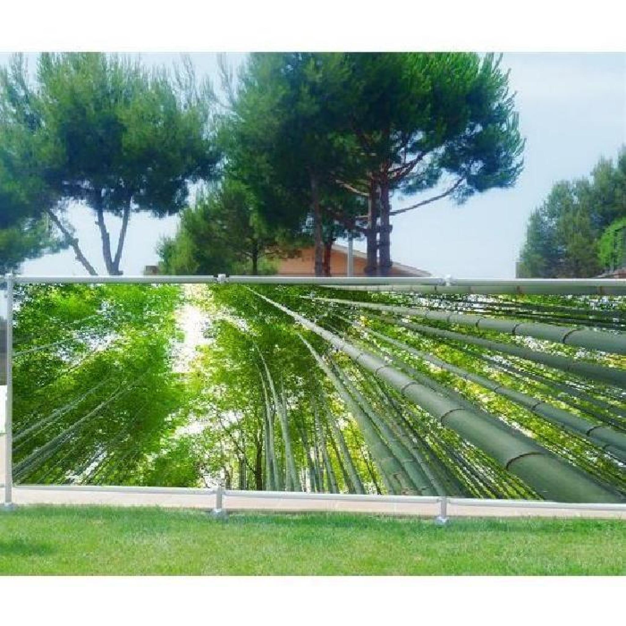 brise vue, jardin, terrasse, balcon déco bambous occultation - 80