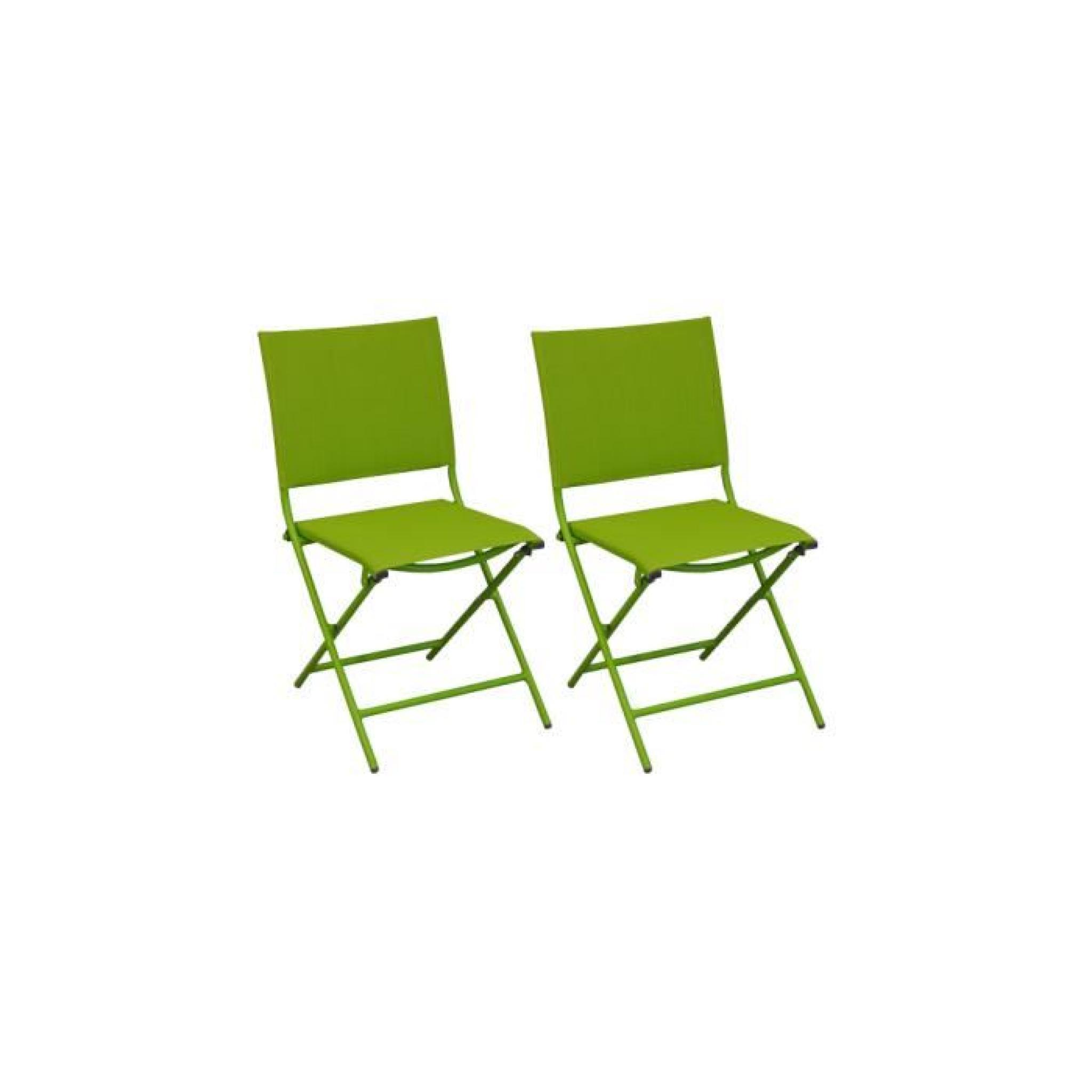 Globe chaise pliante acier cataphor se textil ne mousse for Chaise de jardin textilene pas cher