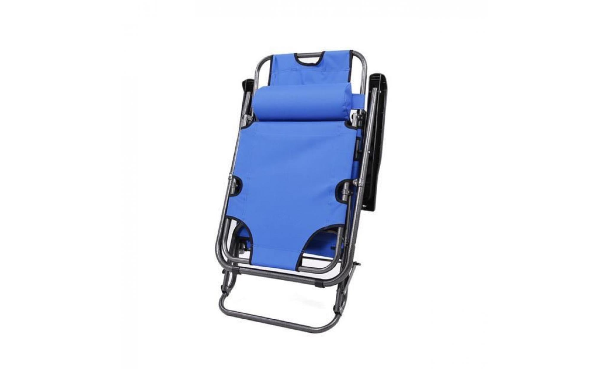 Chaise longue de jardin pliante inclinable achat vente - Chaise longue de jardin pas cher ...