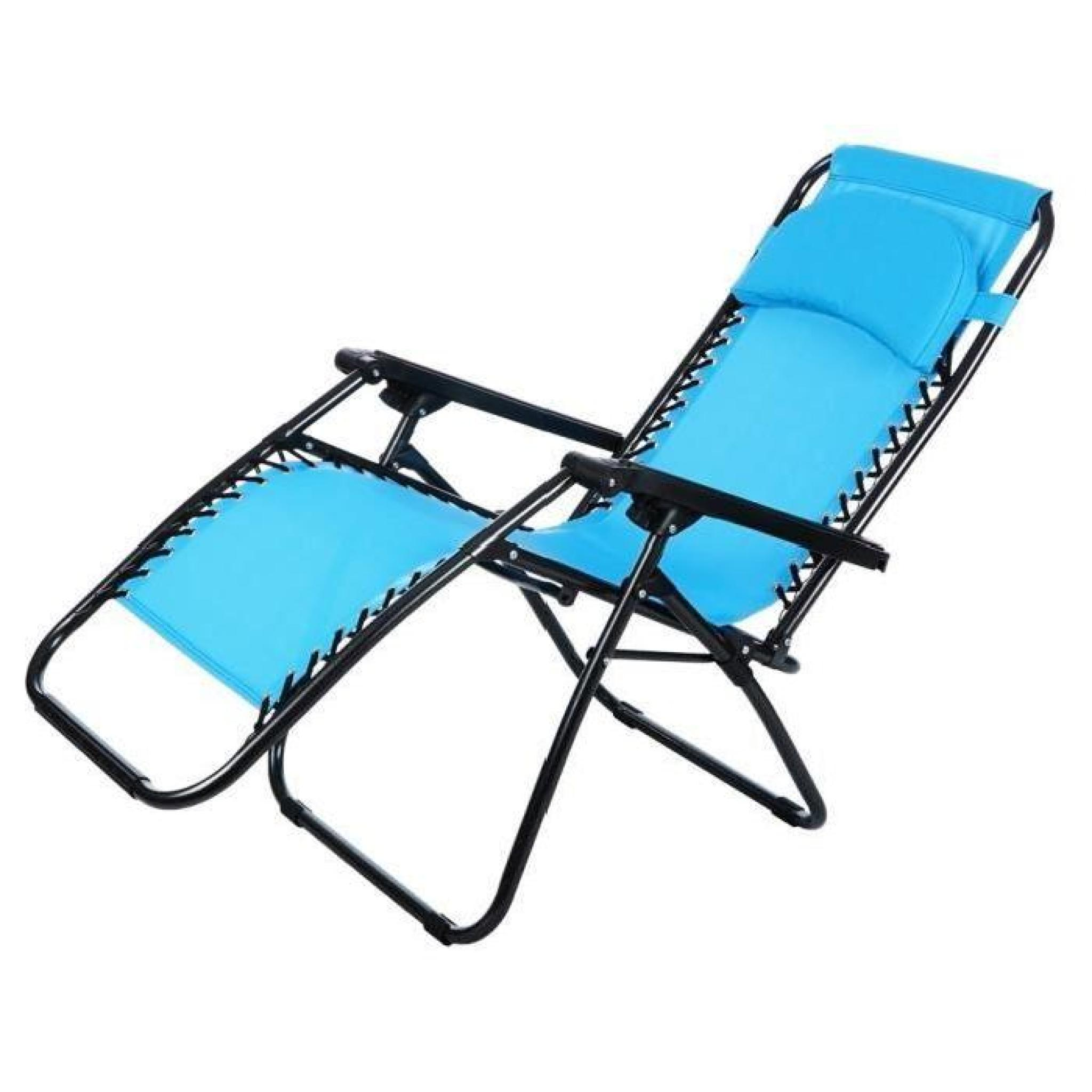 chaise pliant inclinable jardin plage camping chaise ext rieure achat vente transat de jardin. Black Bedroom Furniture Sets. Home Design Ideas