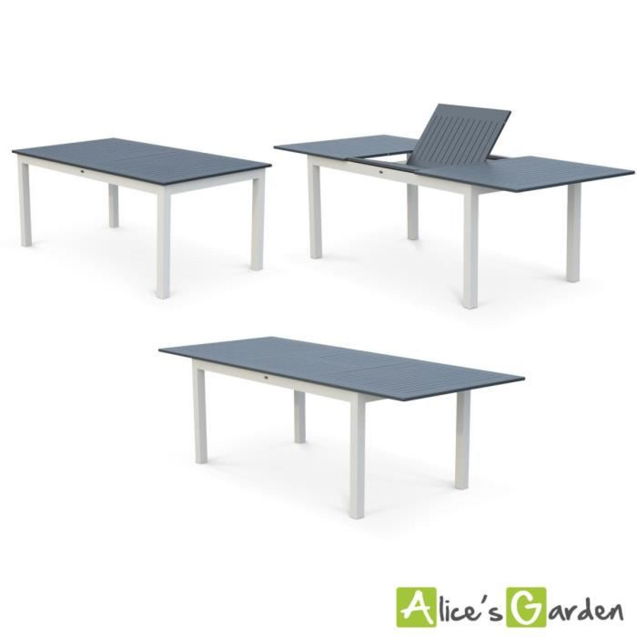 Awesome Salon De Jardin Table Extensible Aluminium ...
