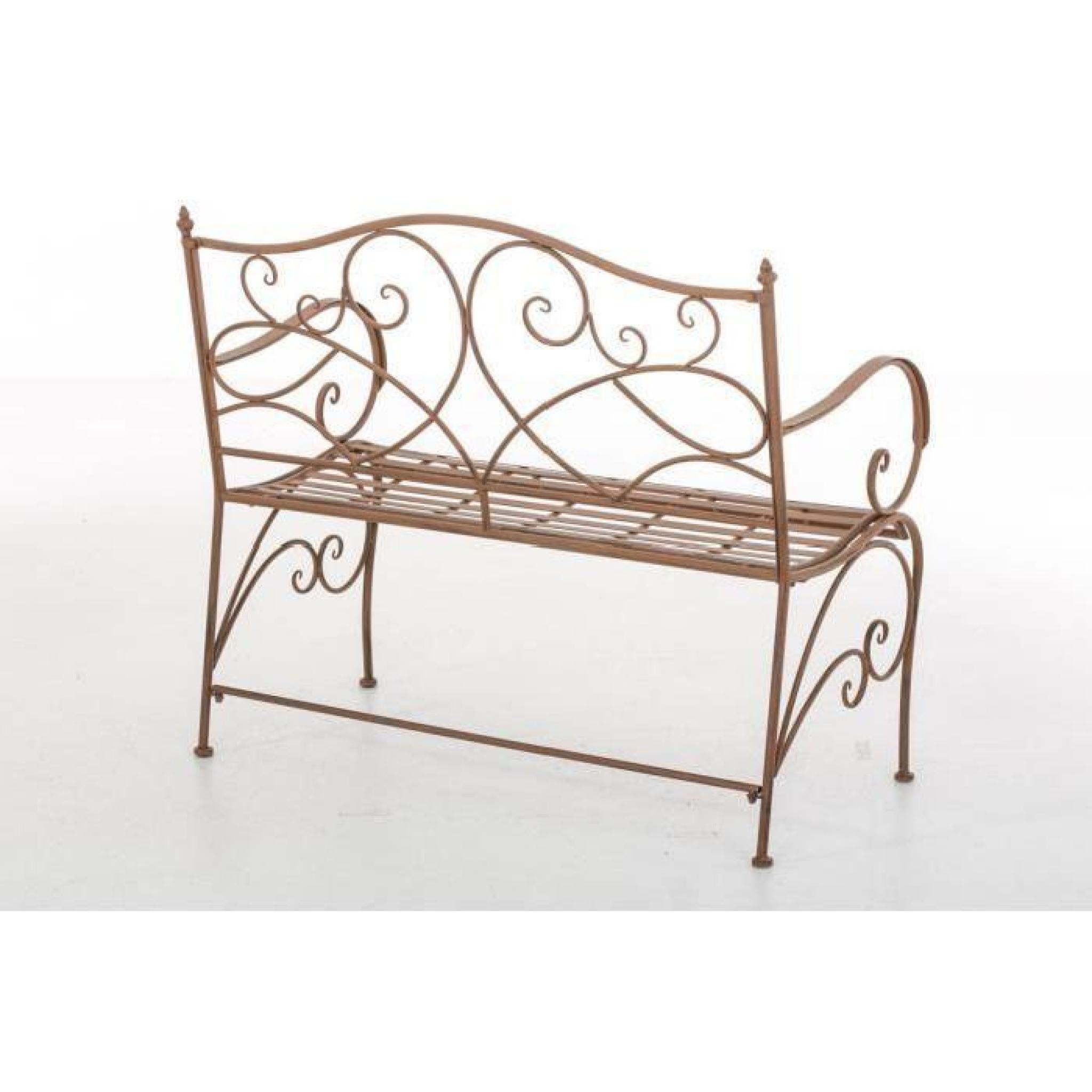 Clp banc pour jardin romantique filiz en fer forg style - Banc de jardin en fer forge pas cher ...