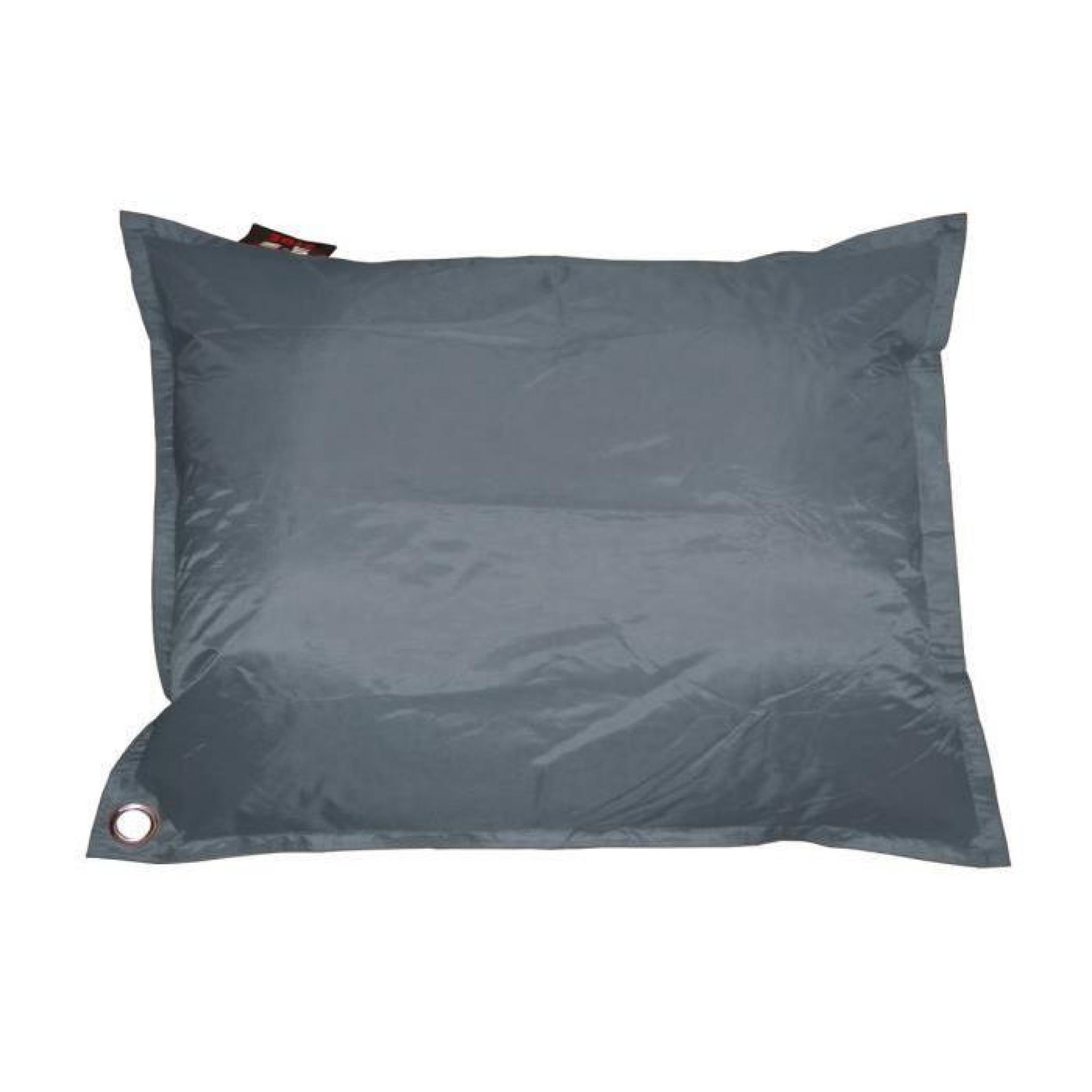 corfou pouf g ant imperm able xxl 140x180 cm d houssable rose achat vente pouf exterieur pas. Black Bedroom Furniture Sets. Home Design Ideas