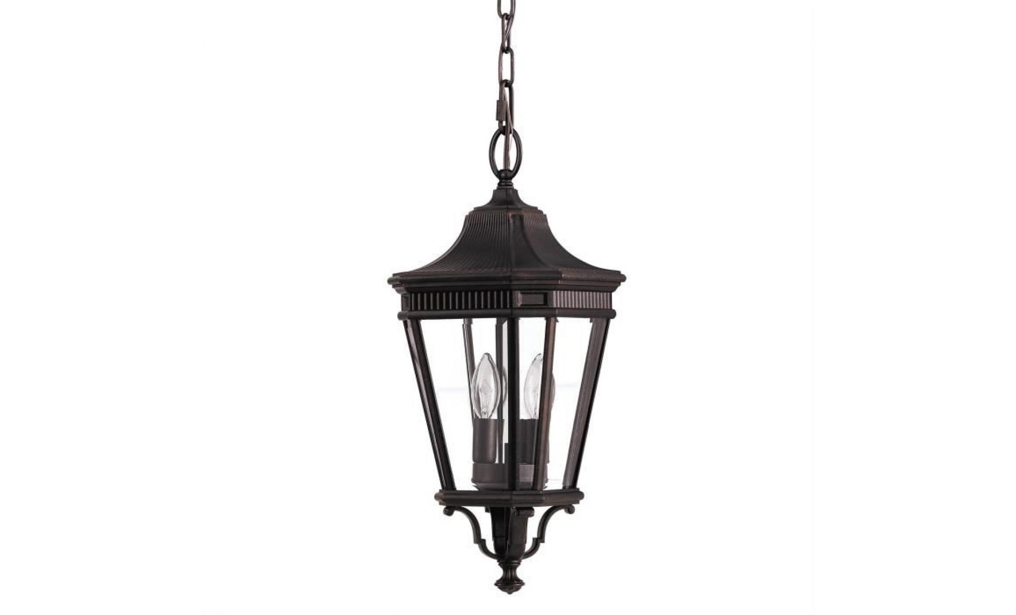 cotswold lane pendant lampe d 39 ext rieur grecian bronze achat vente lampe suspension exterieure. Black Bedroom Furniture Sets. Home Design Ideas