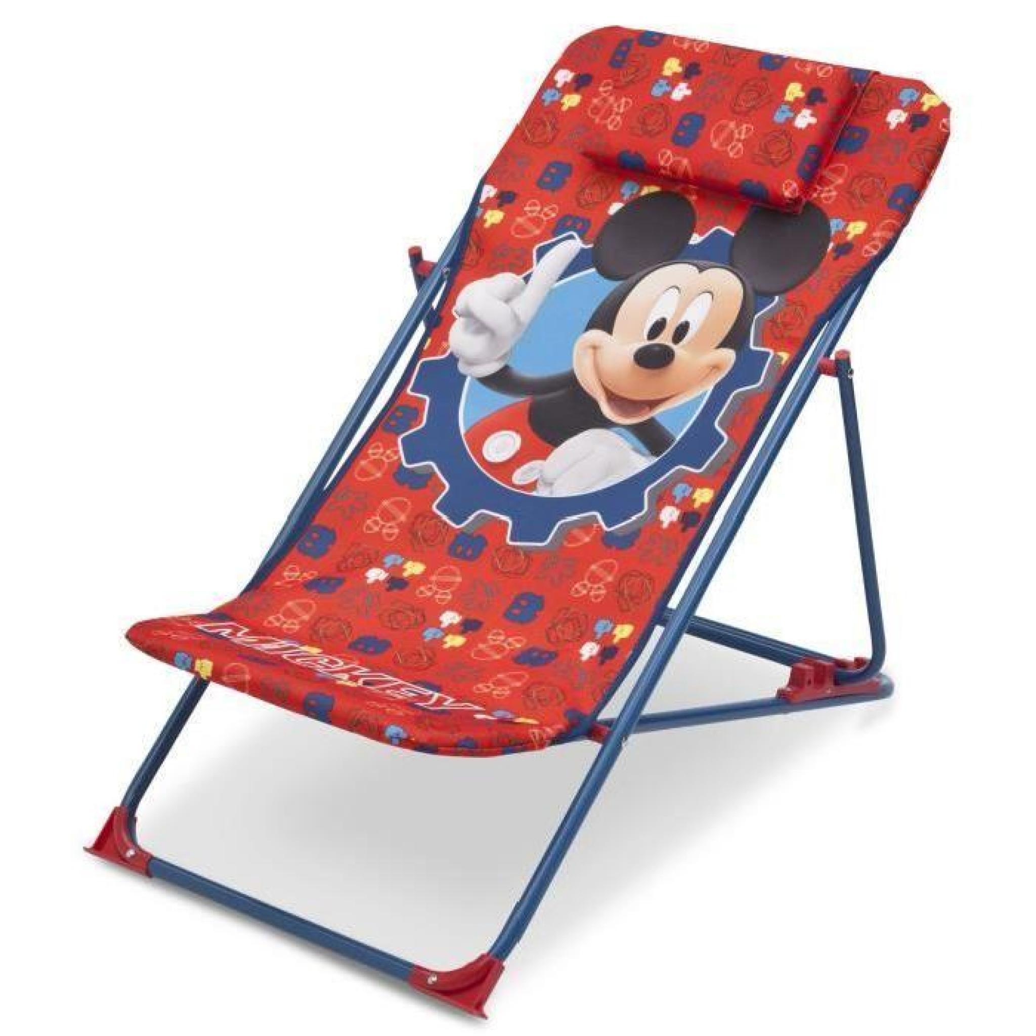 Mickey Achatvente Transat De Enfant Longue Chaise Plage 8nNywOmv0