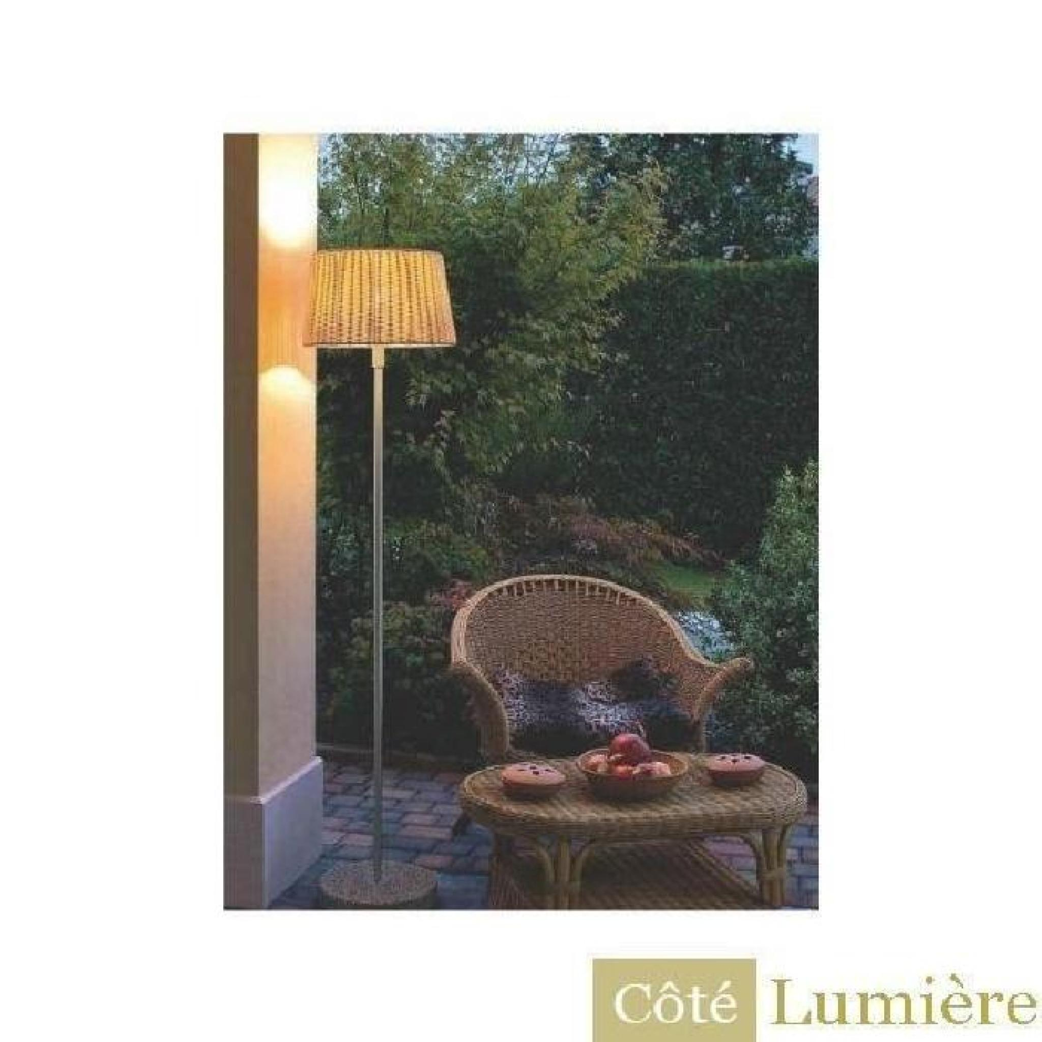 eglo lampadaire ext rieur levada achat vente lampadaire jardin pas cher. Black Bedroom Furniture Sets. Home Design Ideas