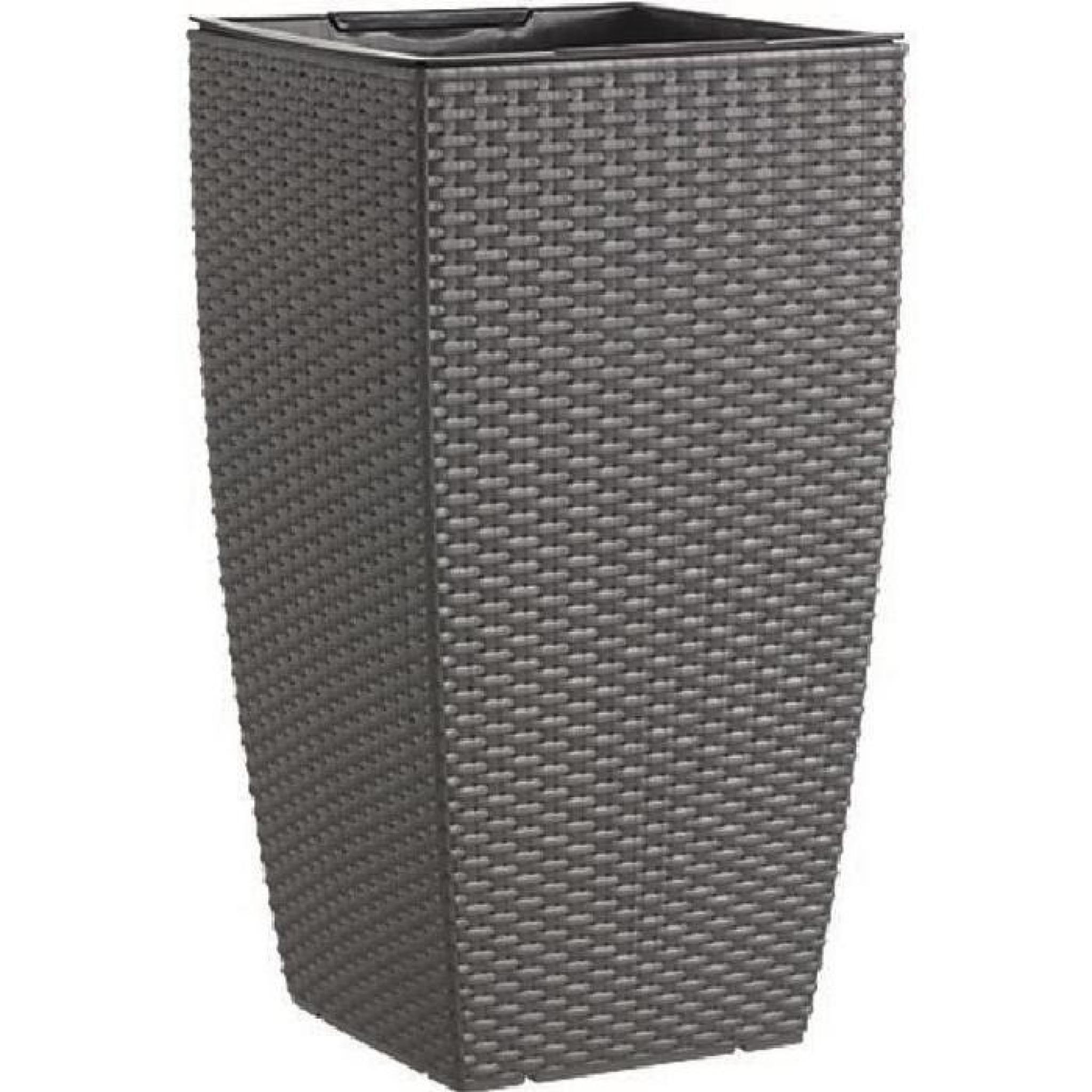 casa mesh pot r serve d 39 eau 30x30x57 cm granite. Black Bedroom Furniture Sets. Home Design Ideas