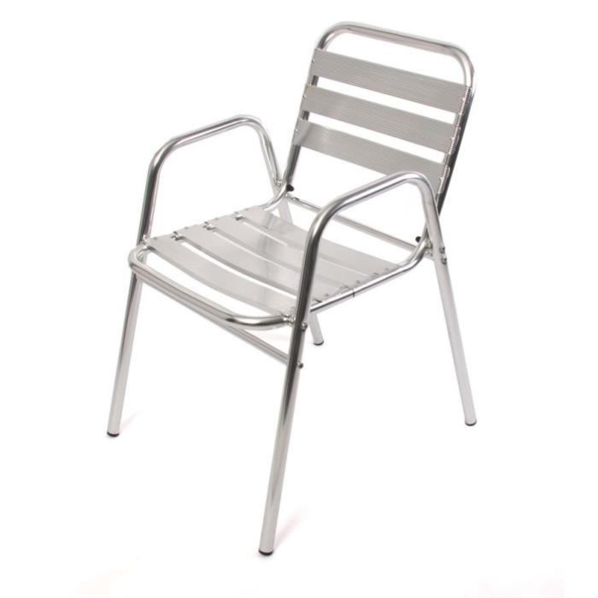 Ensemble bistrot m28 aluminium achat vente salon de - Salon de jardin bistrot pas cher ...
