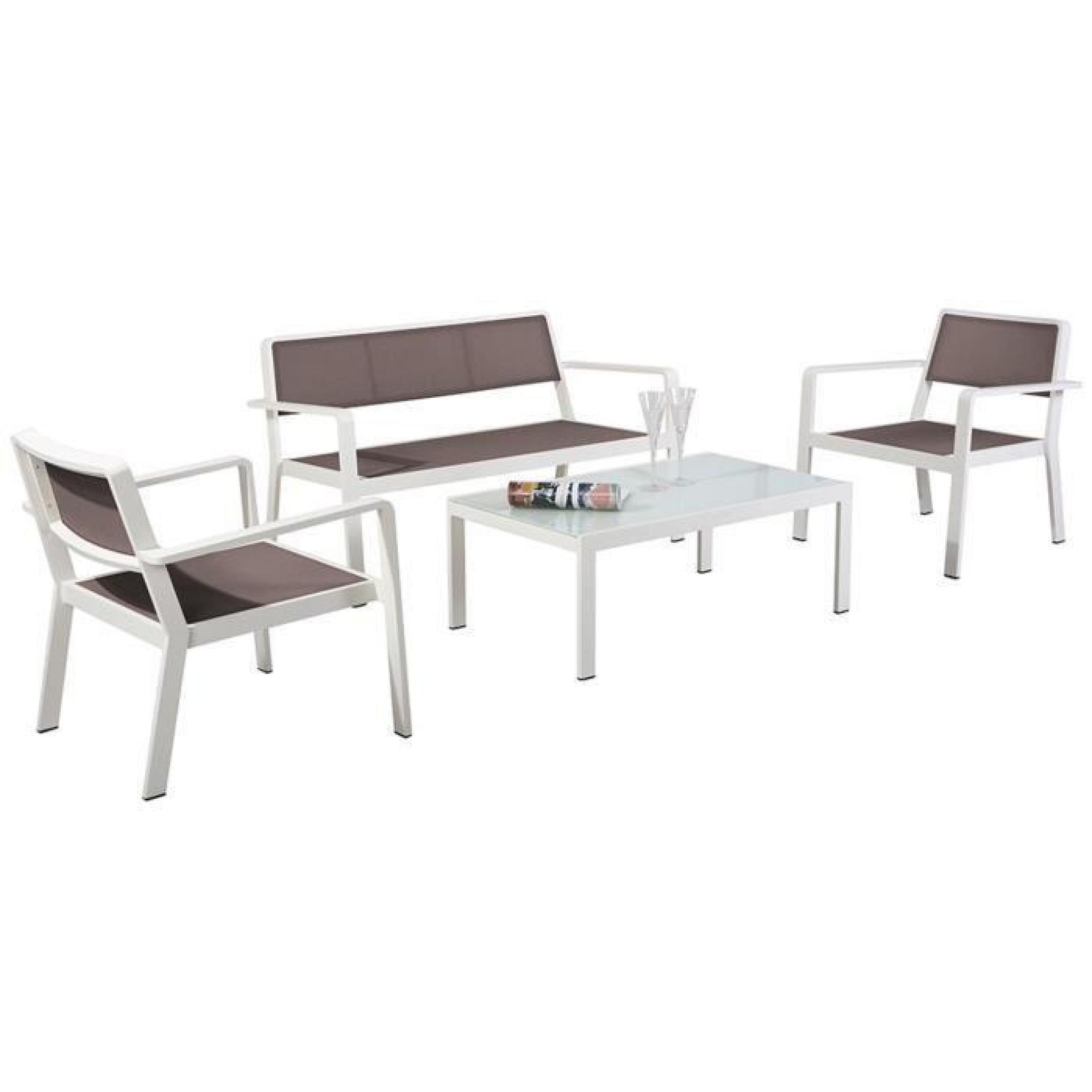 Ensemble composé de 2 fauteuils + 1 canapé 2 places + 1 table basse ...