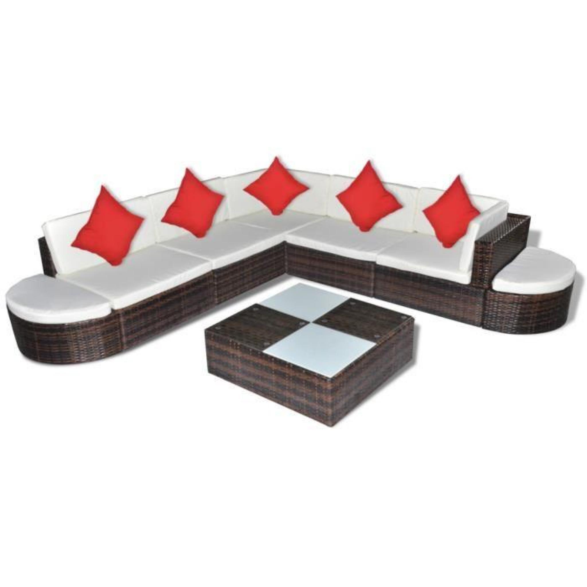 Ensembles de meubles d 39 exterieur salon de jardin 27 pieces for Ensemble de meuble de salon