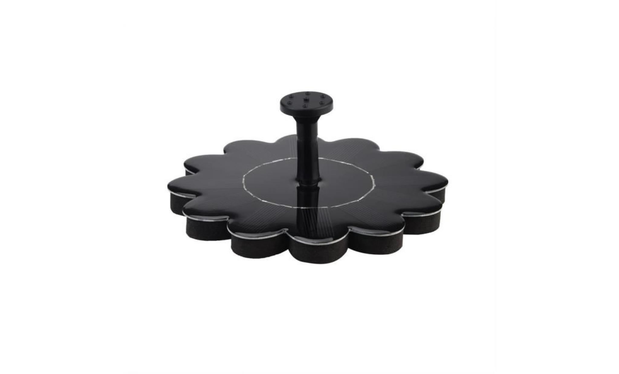 ext rieur nergie solaire oiseaux bain d 39 eau fontaine. Black Bedroom Furniture Sets. Home Design Ideas