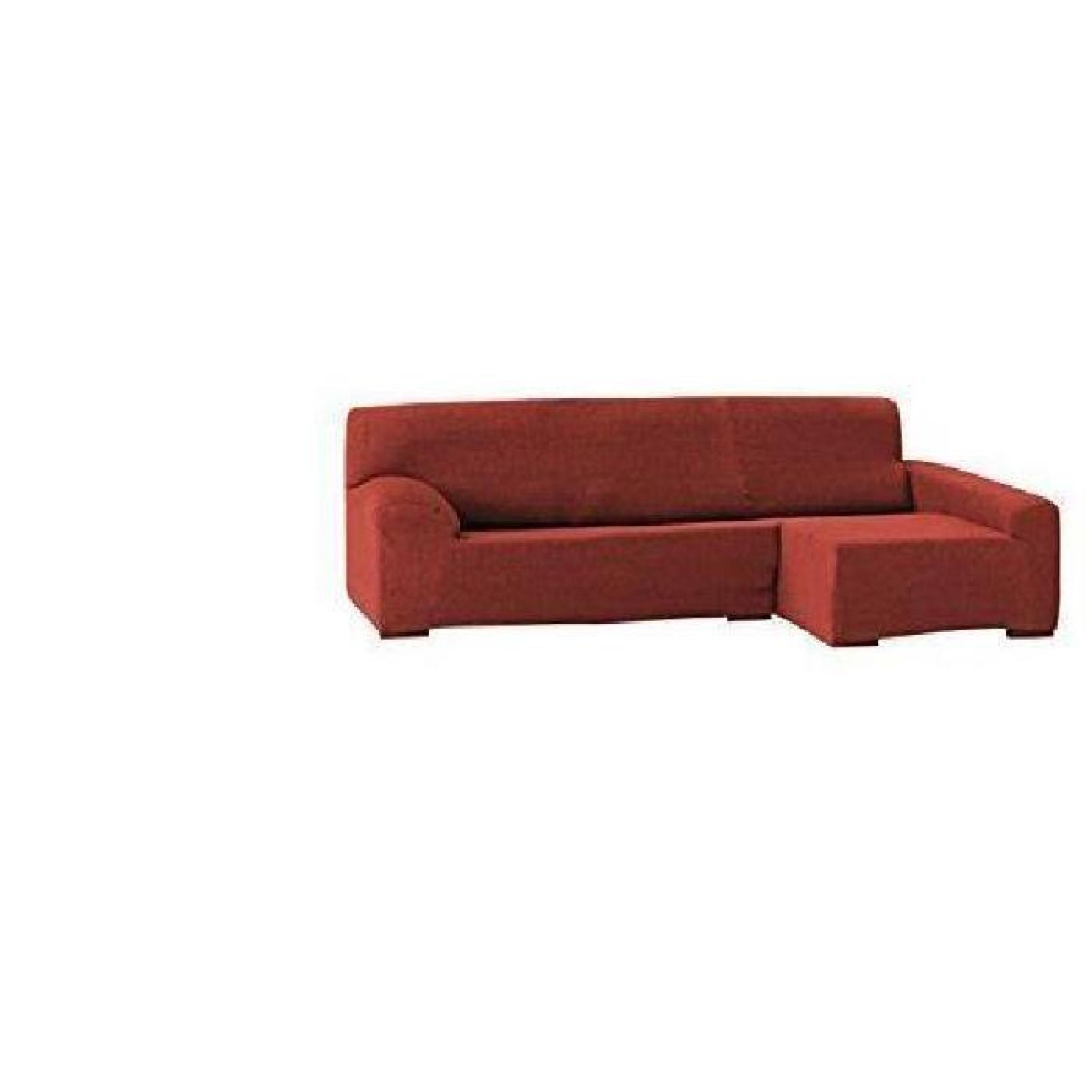 eysa f033469d teide chaise longue droite vue frontale coton polyester elastom re orange 44 x 38. Black Bedroom Furniture Sets. Home Design Ideas