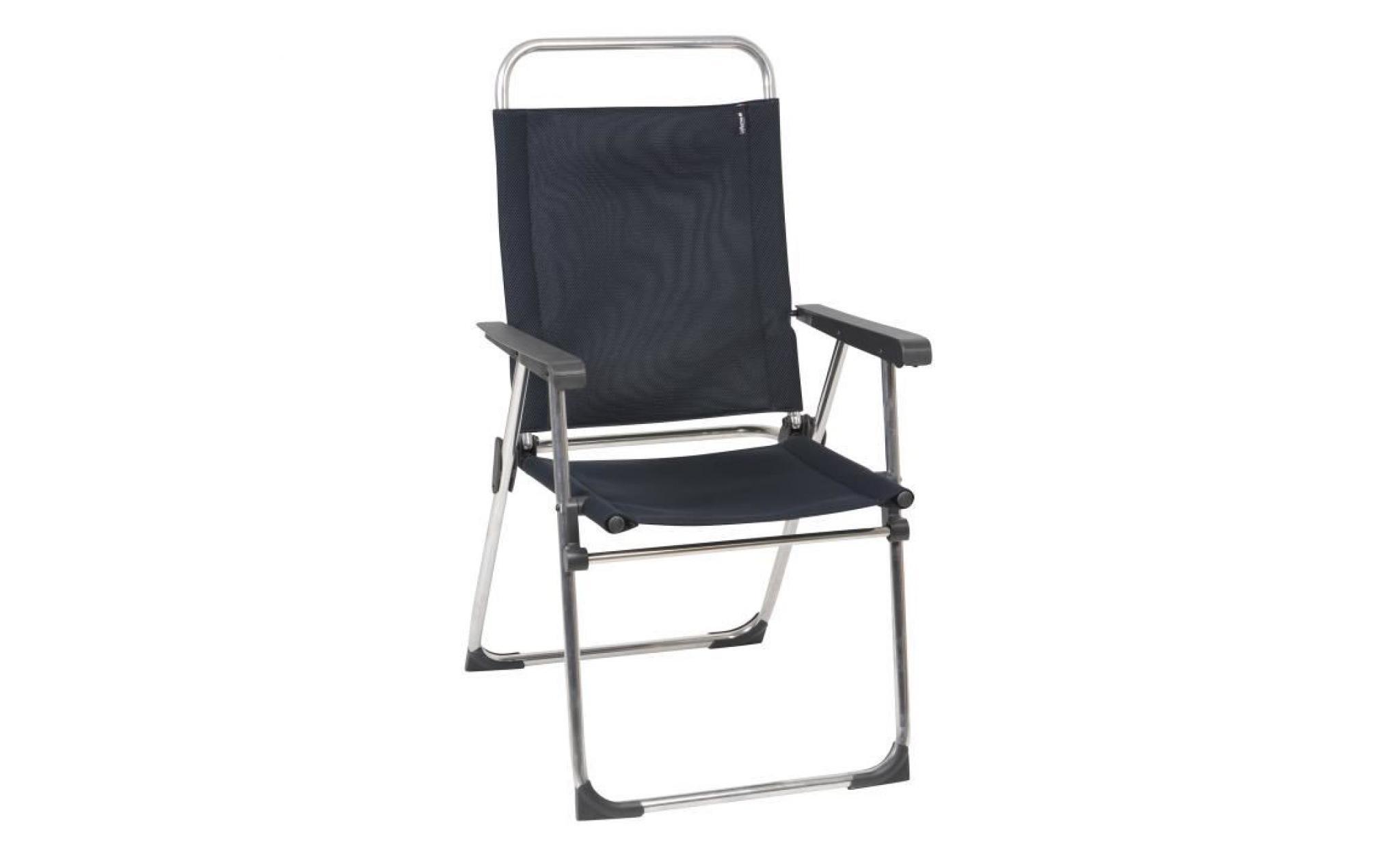fauteuil de jardin pliant en aluminium et toile victoria acier achat vente fauteuil de jardin. Black Bedroom Furniture Sets. Home Design Ideas