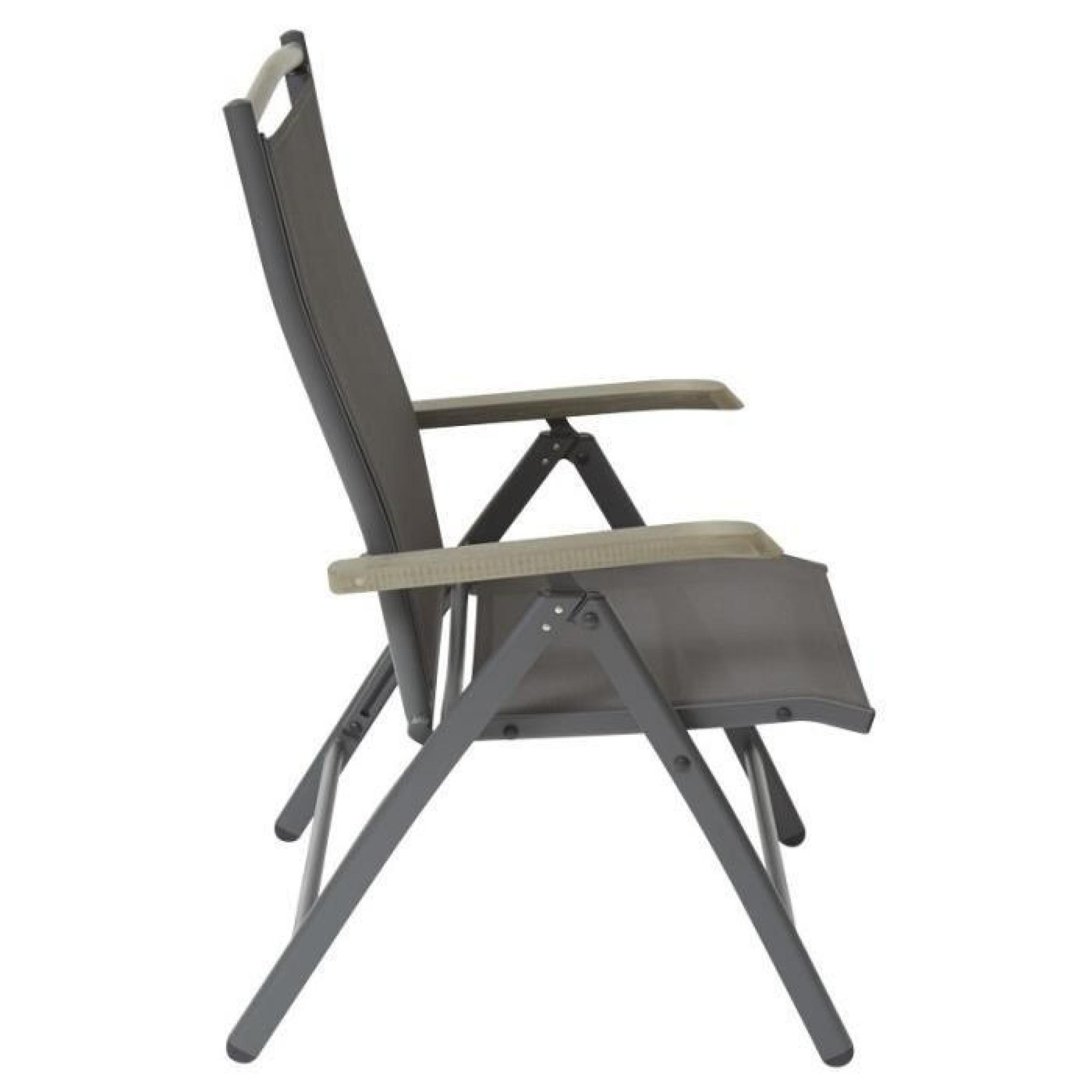 fauteuil de jardin pliant et inclinable achat vente fauteuil de jardin pliant pas cher. Black Bedroom Furniture Sets. Home Design Ideas