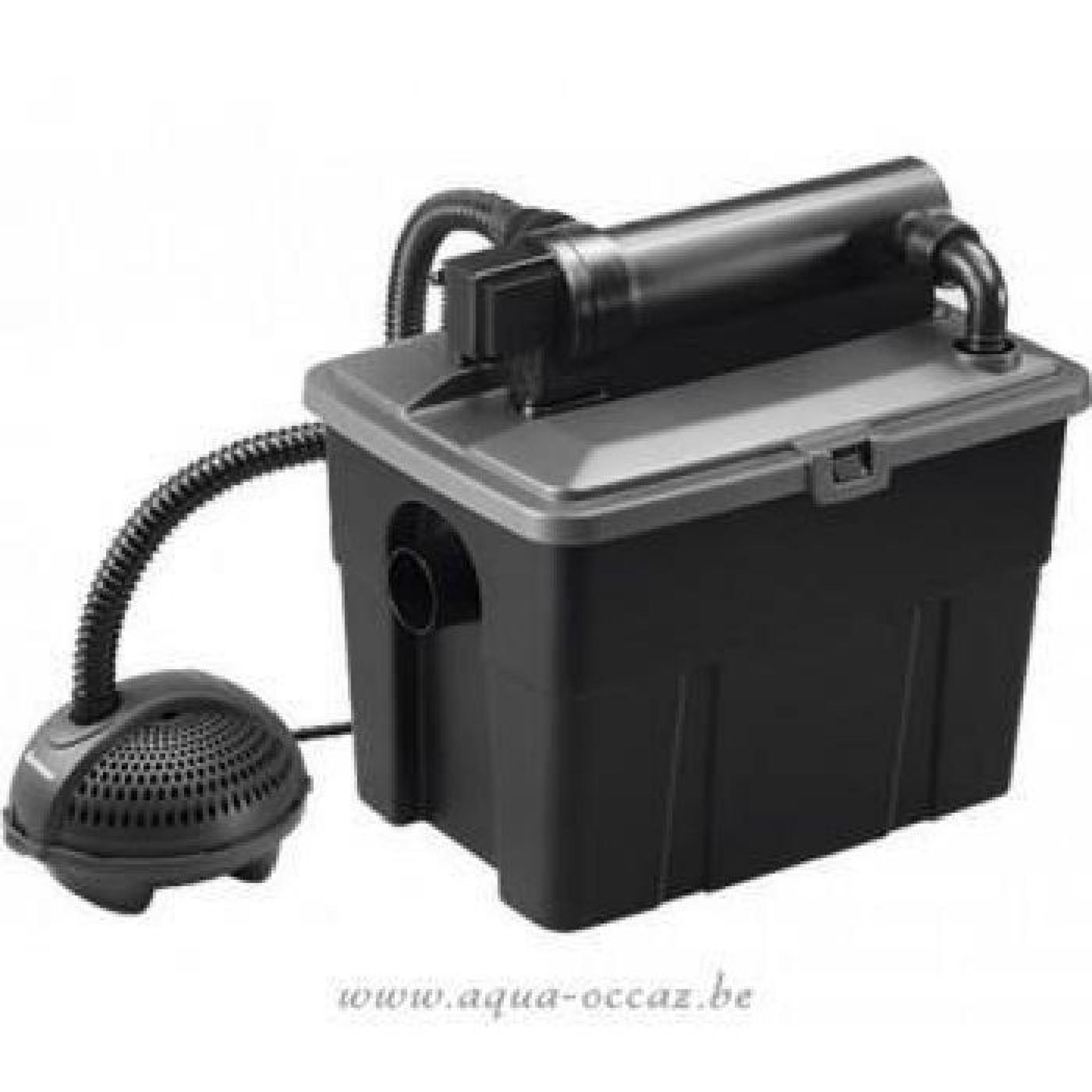 filtration compl te avec u v pour bassin de jardin 4000 8000 litres achat vente bassin de. Black Bedroom Furniture Sets. Home Design Ideas