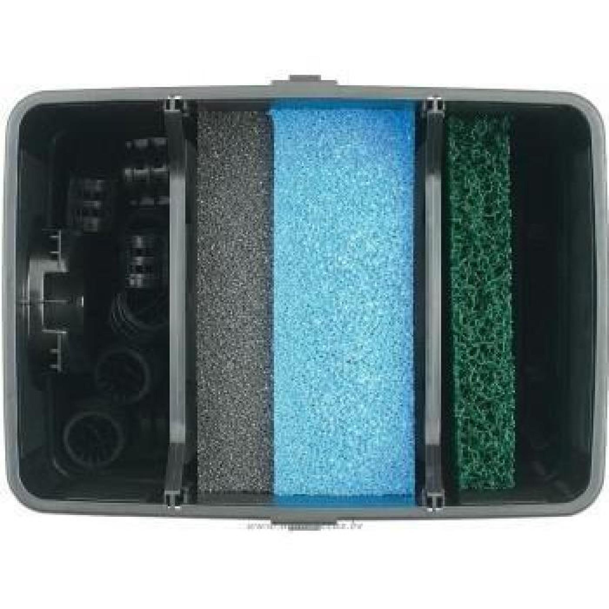 Filtration compl te avec u v pour bassin de jardin 4000 for Kit filtration bassin pas cher