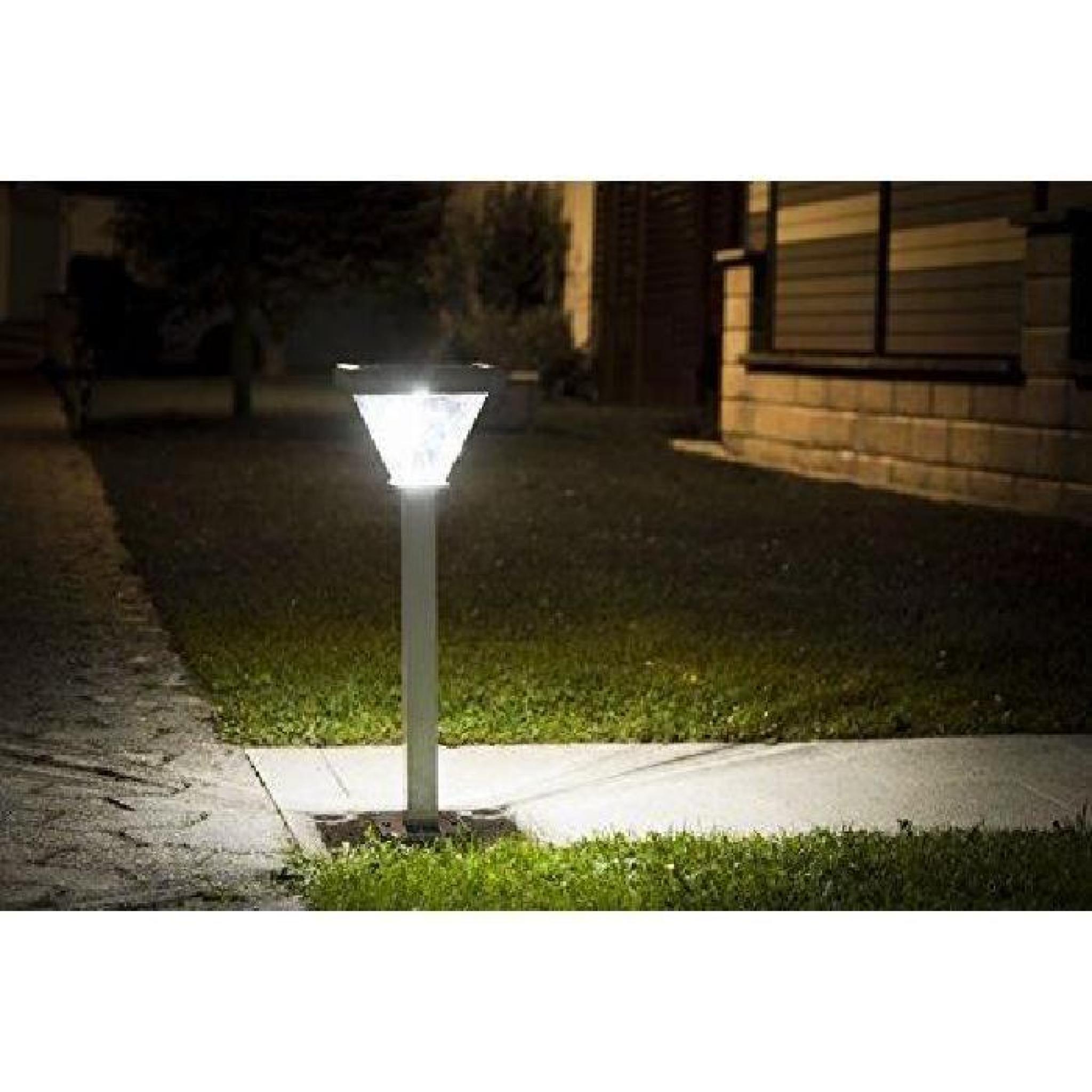 Galix 1031 Poteau Solaire Aluminium… - Achat/Vente lampe solaire ...