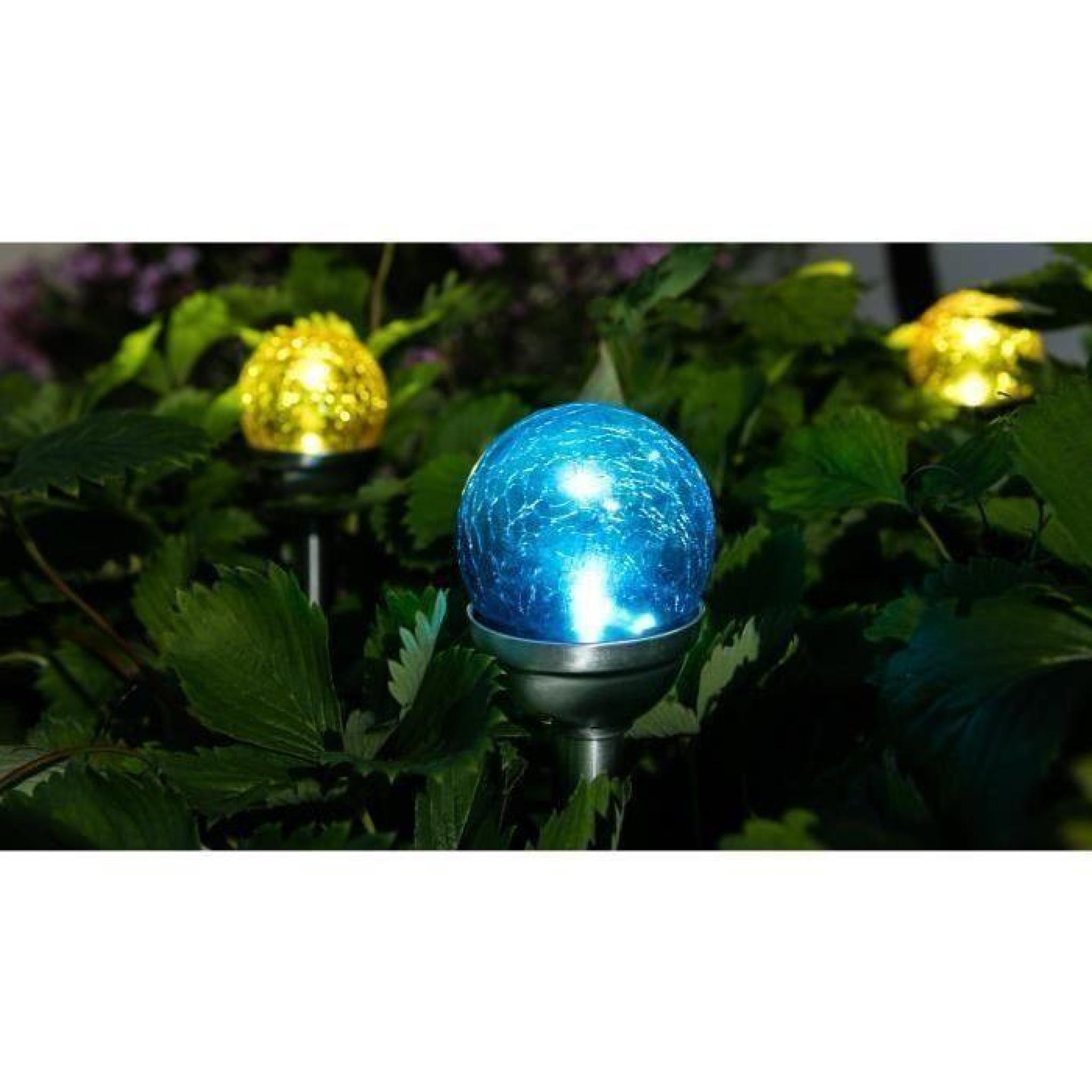 GALIX Lanterne solaire en inox - Jaune - Achat/Vente lampe solaire ...