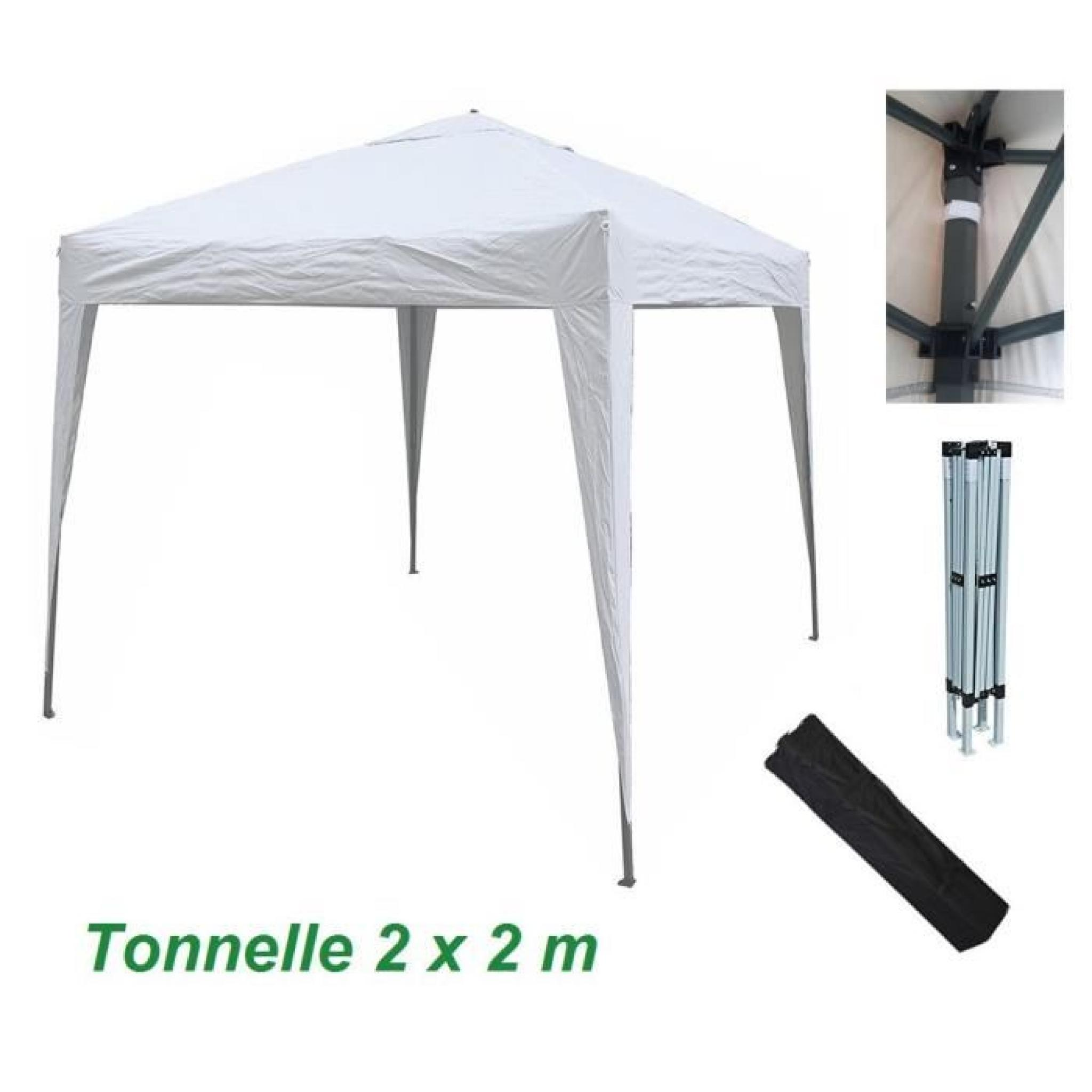 Gazébo-kioske-pavillon-tente-tonnelle-auvent-abri de jardin pliable ...