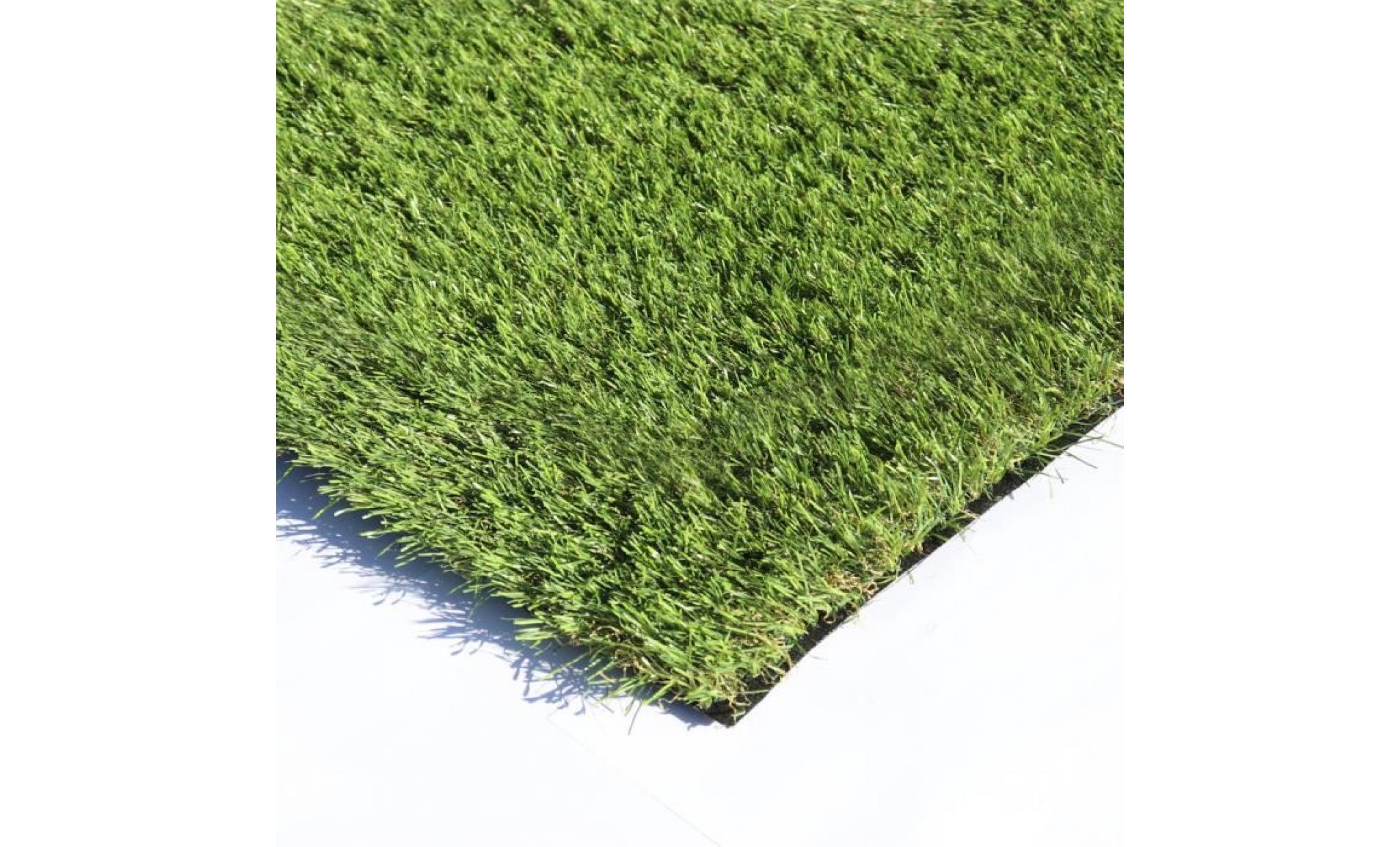 gazon synthétique 2x5m 30mm pelouse artificielle pour