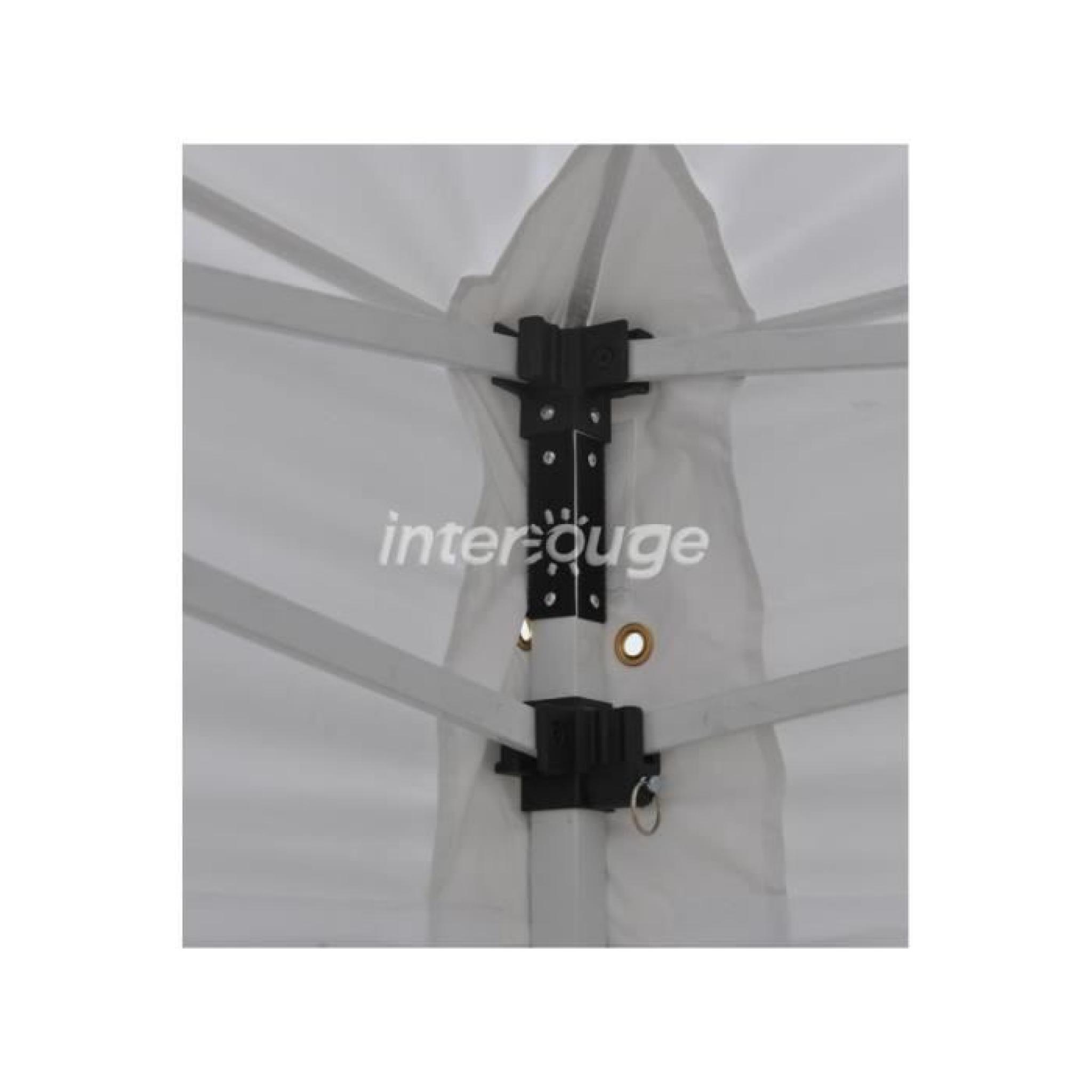 interouge barnum chapiteau tonnelle tente pliante m dium acier 32mm 3x4 5m totalement. Black Bedroom Furniture Sets. Home Design Ideas
