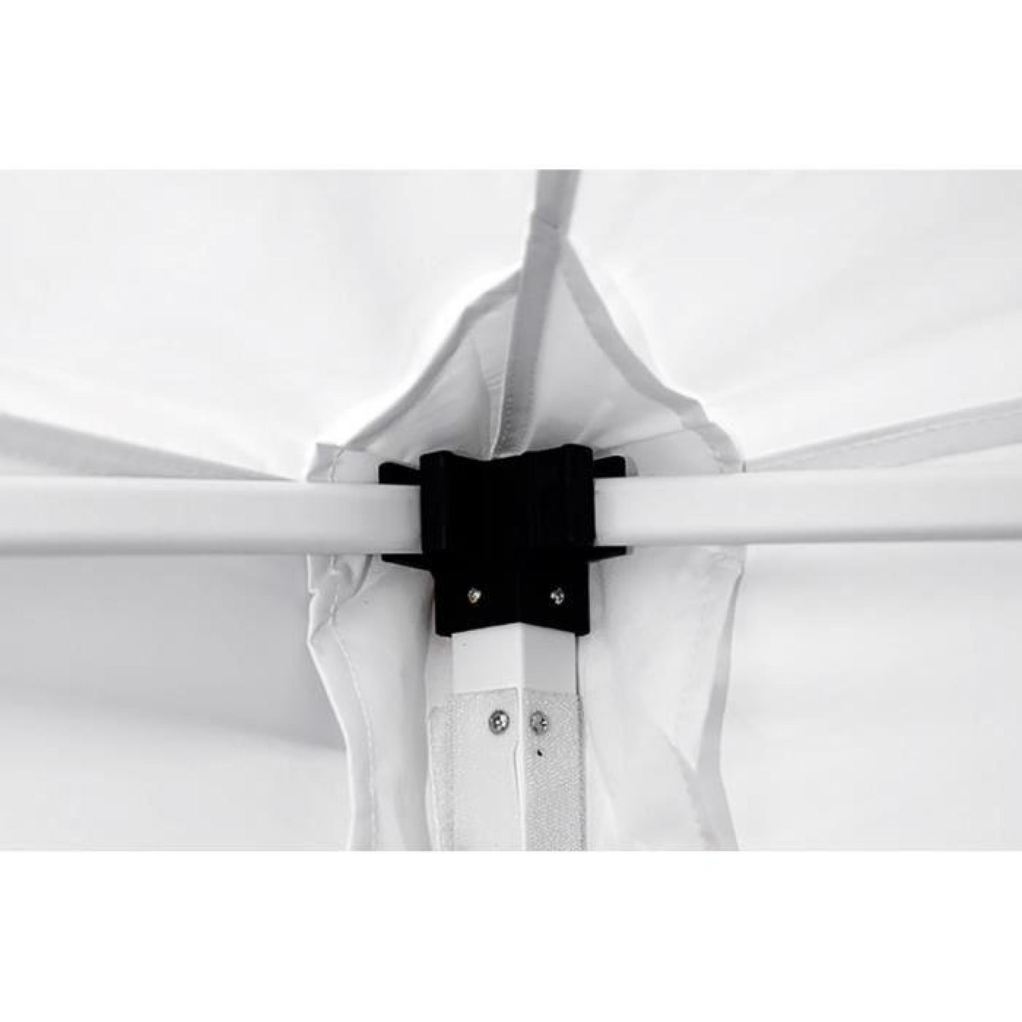 interouge barnum chapiteau tonnelle tente pliante m dium acier 32mm 3x6m totalement imperm able. Black Bedroom Furniture Sets. Home Design Ideas