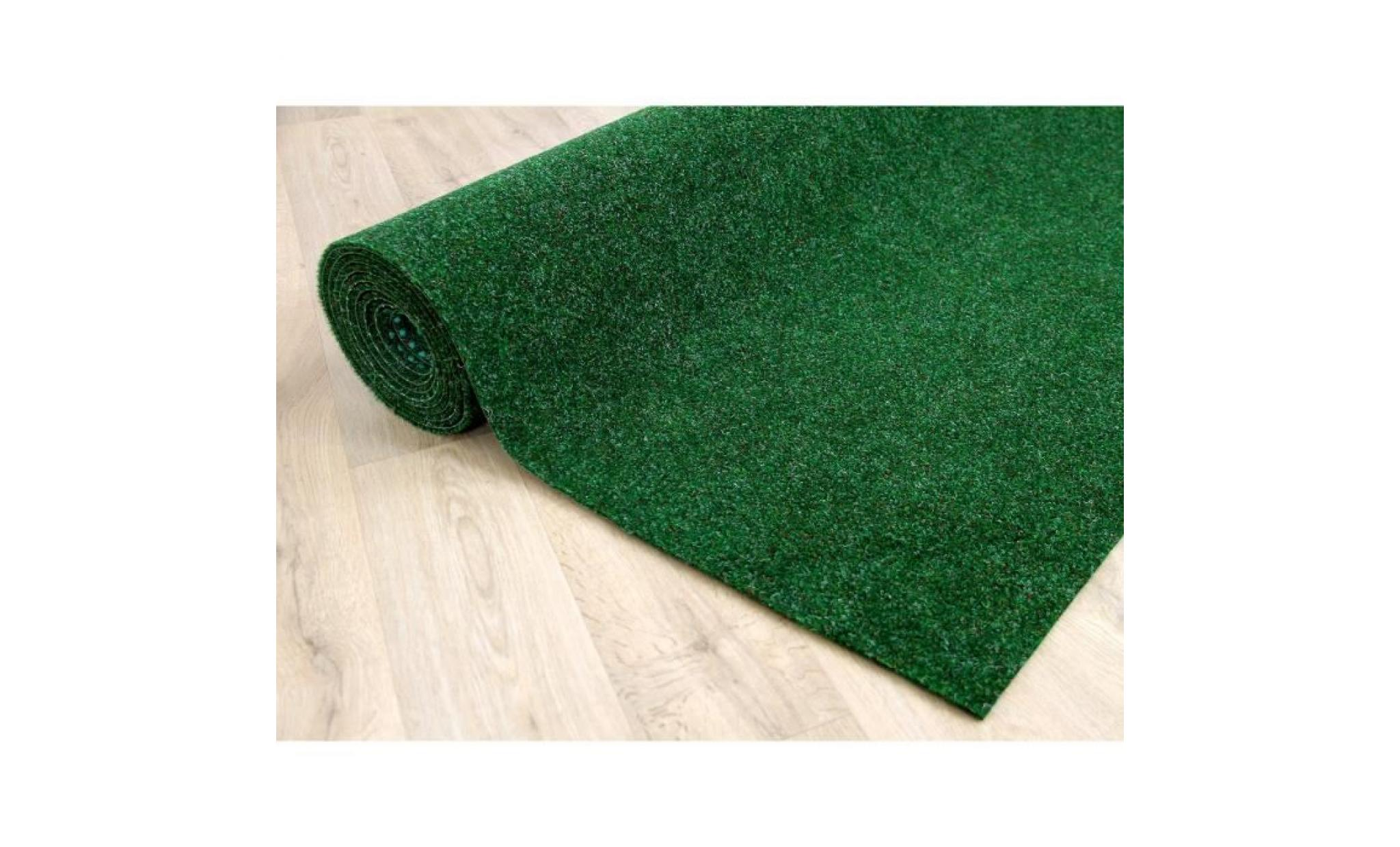 kingston   tapis type gazon artificiel – pour jardin, terrasse, balcon   anthracite [200x250 cm]