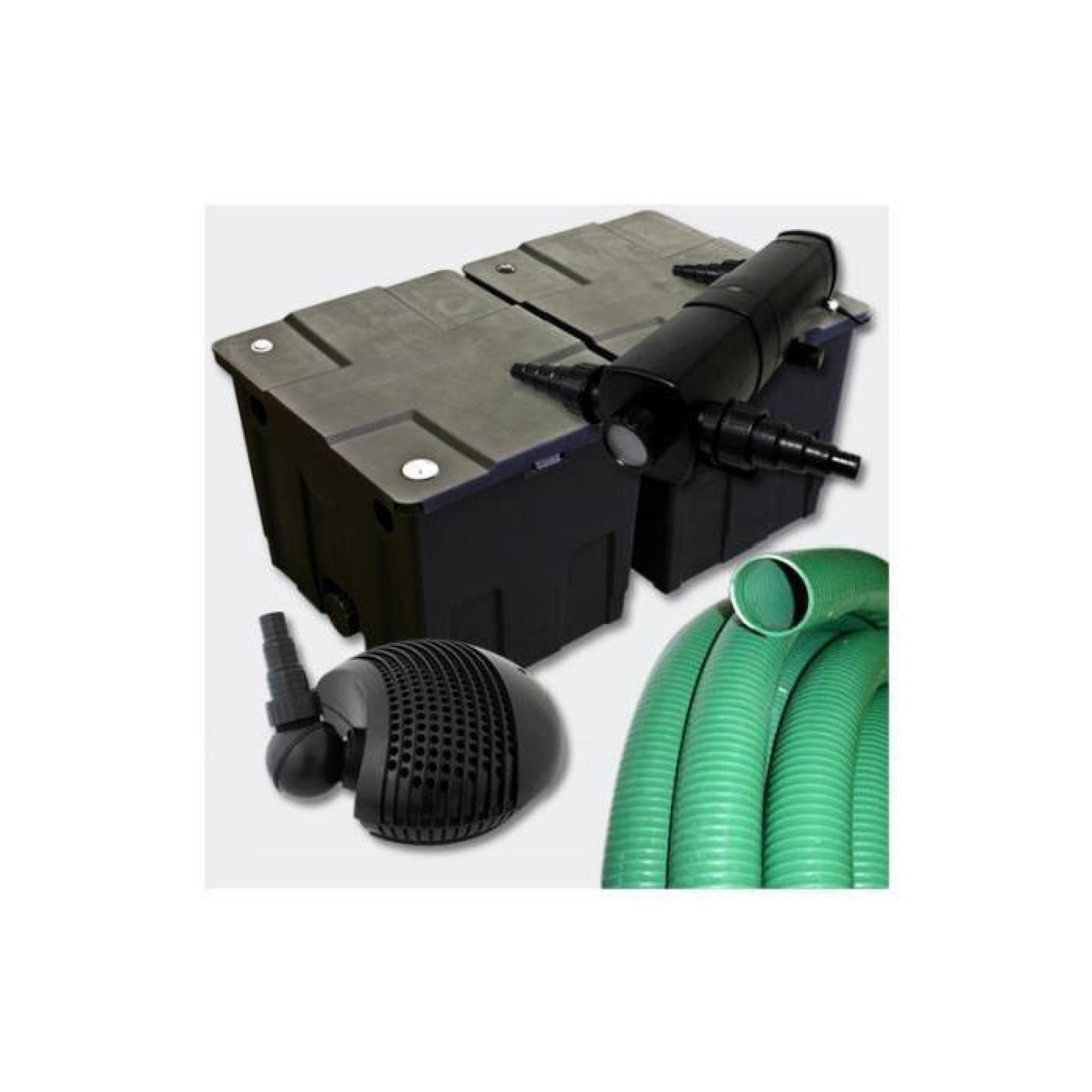 kit de filtration complet avec uv pour bassin de jardin 8 10 m achat vente bassin de. Black Bedroom Furniture Sets. Home Design Ideas