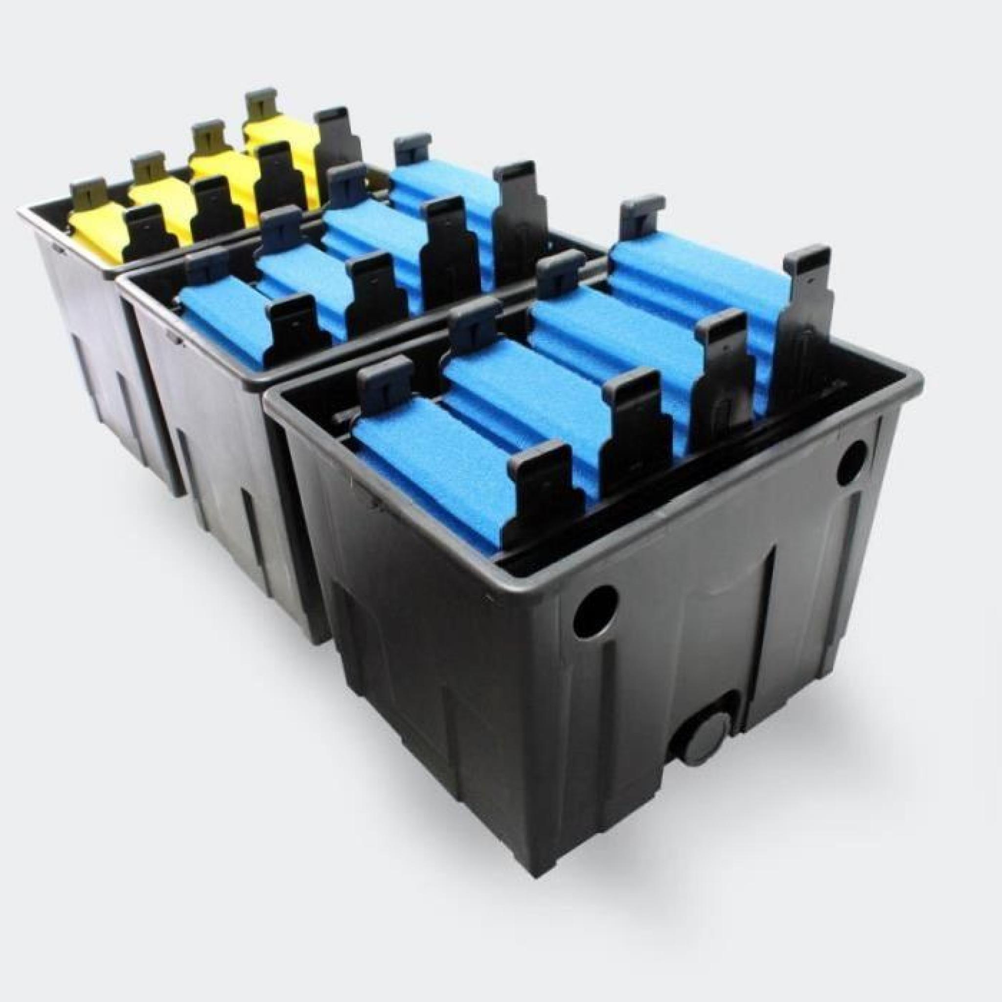 Kit de filtration uv pour bassin de jardin 40 60 m for Kit filtration bassin pas cher