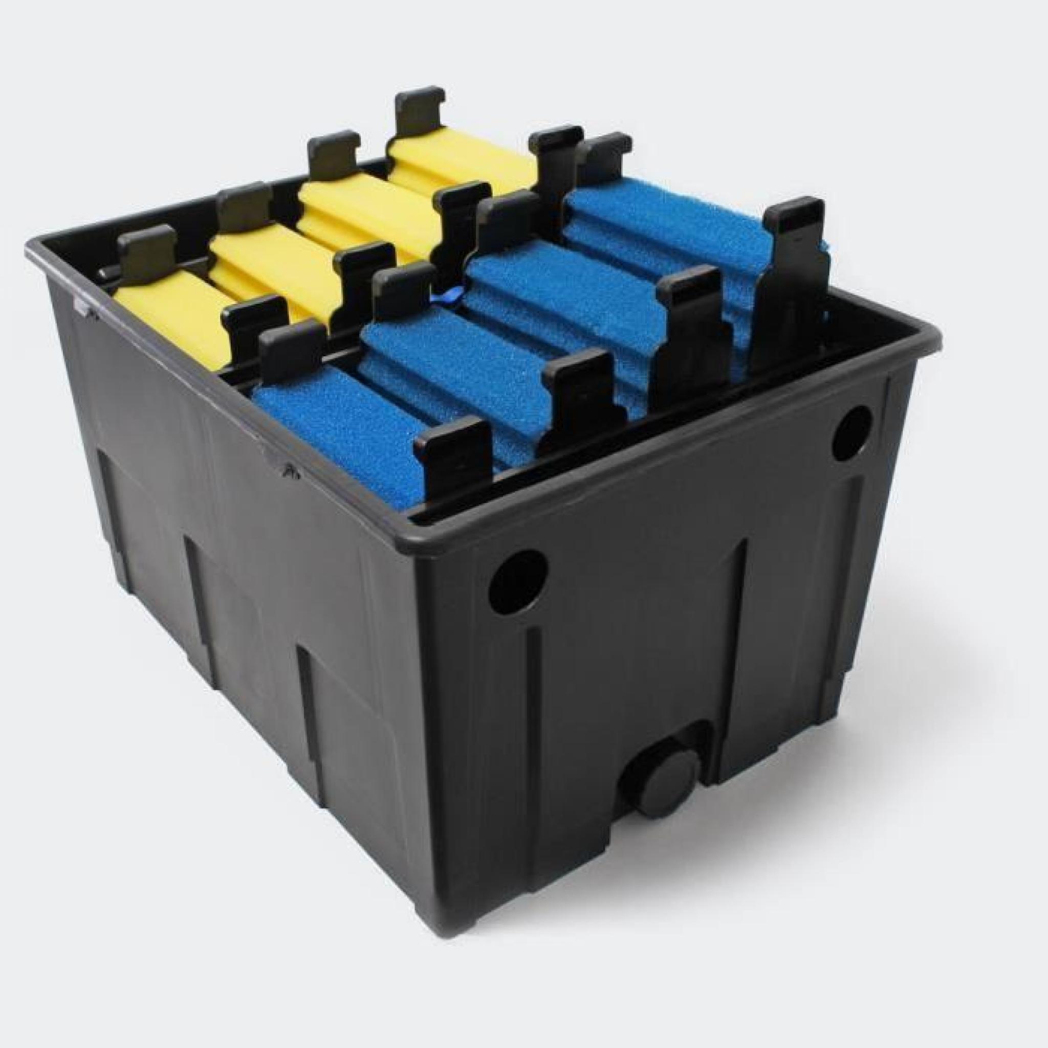 Kit filtration complet 24w pour bassins de 35000 l achat for Kit bassin de jardin pas cher