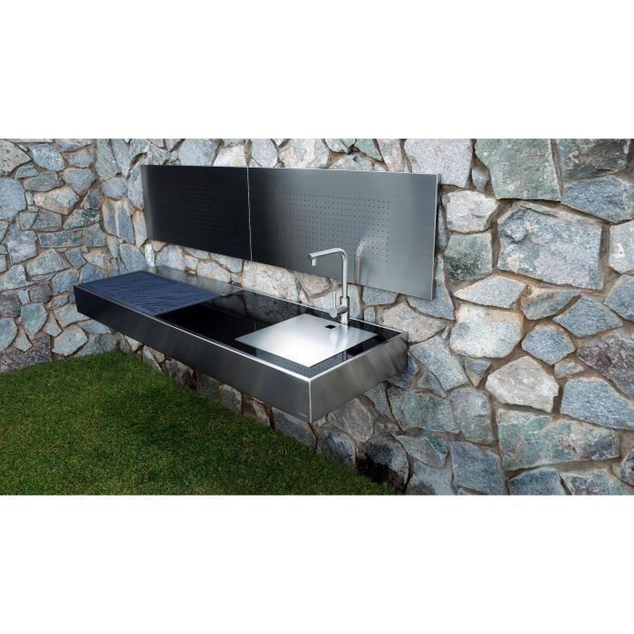 KRAKATOA ELITE ELEGANCE, BARBECUE MURAL AU CHARBON, DESIGN CONTEMPORAIN
