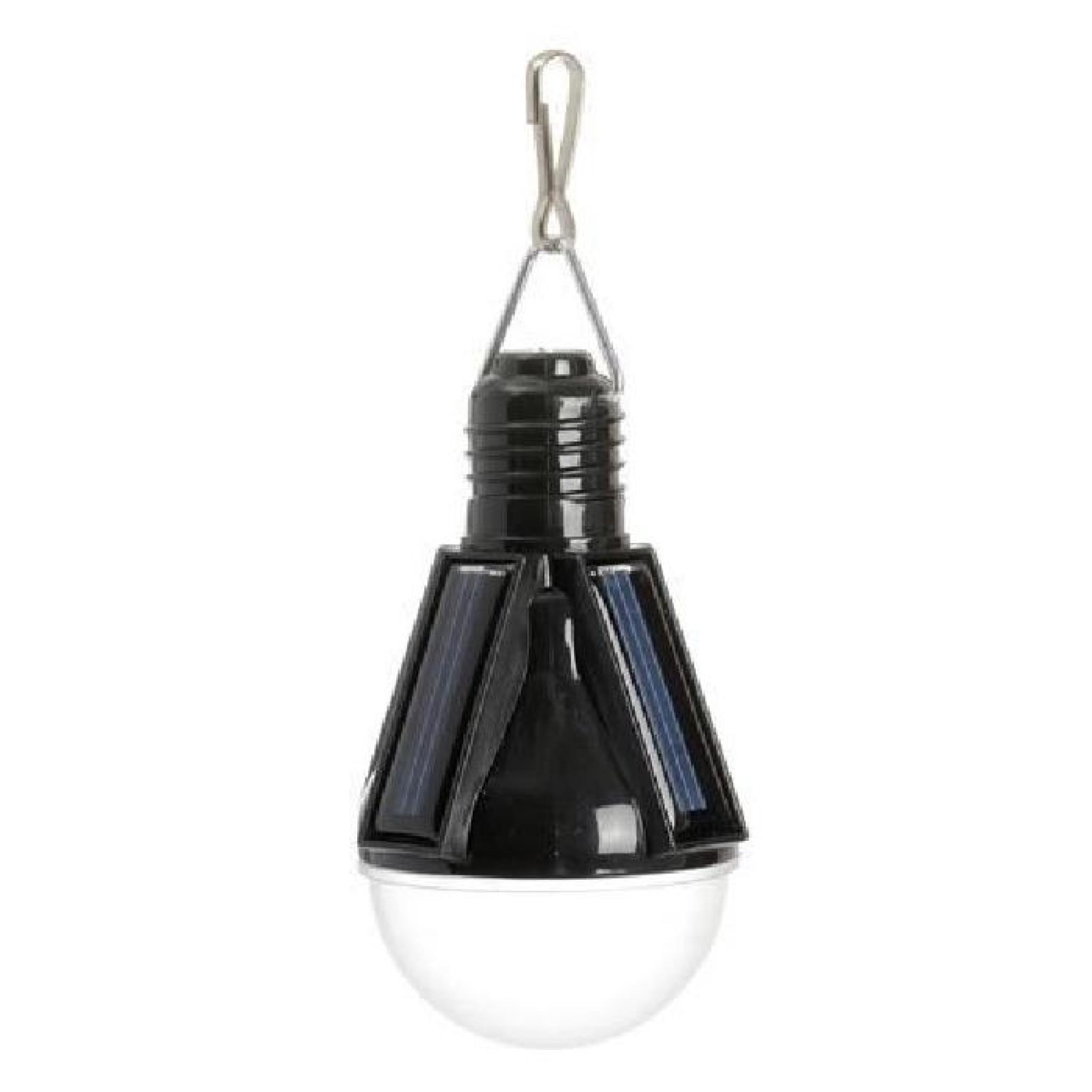 lampe solaire suspendre ampoule rouge achat vente lampe solaire jardin pas cher. Black Bedroom Furniture Sets. Home Design Ideas